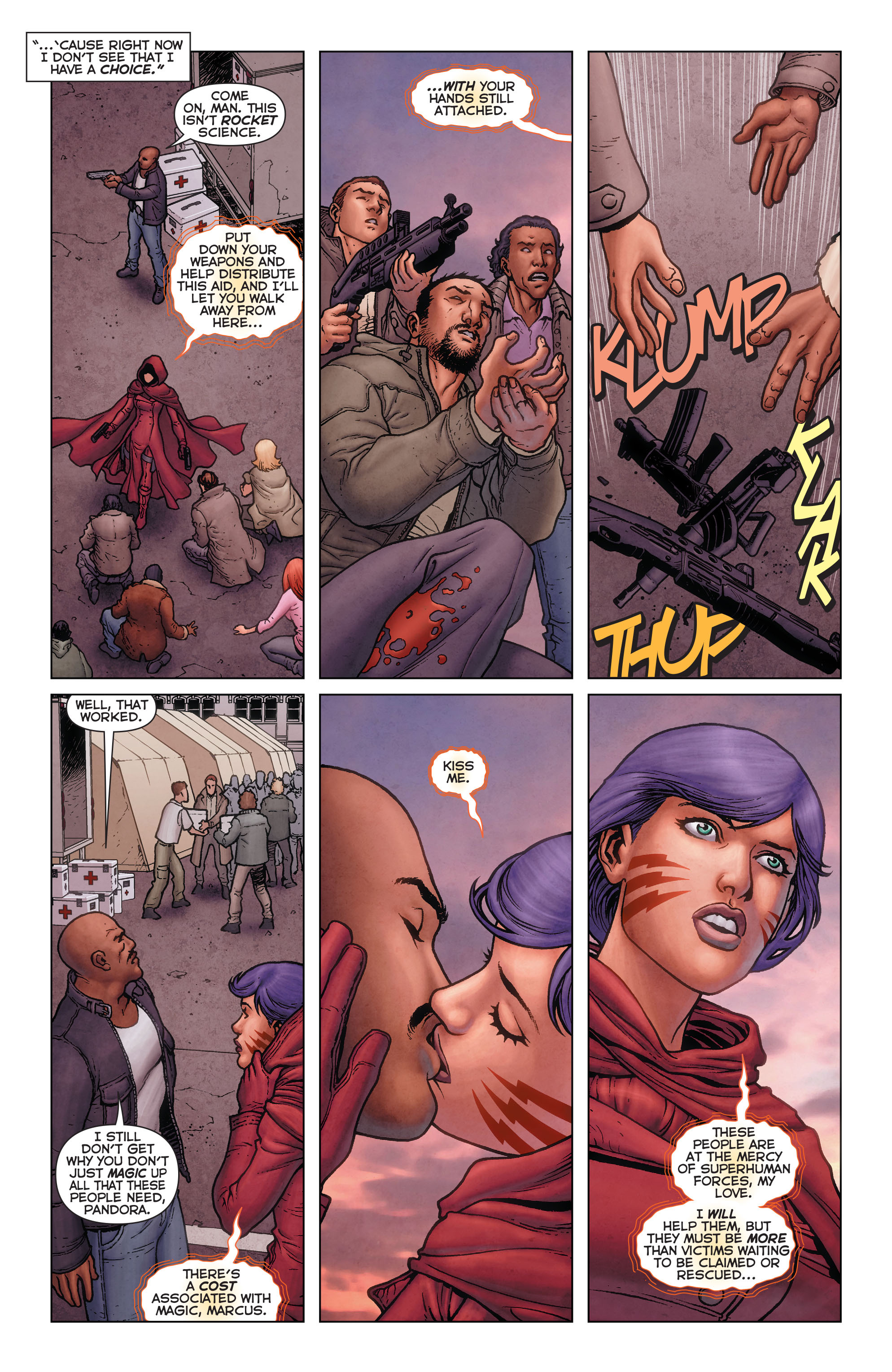 Read online Trinity of Sin: Pandora comic -  Issue #11 - 5
