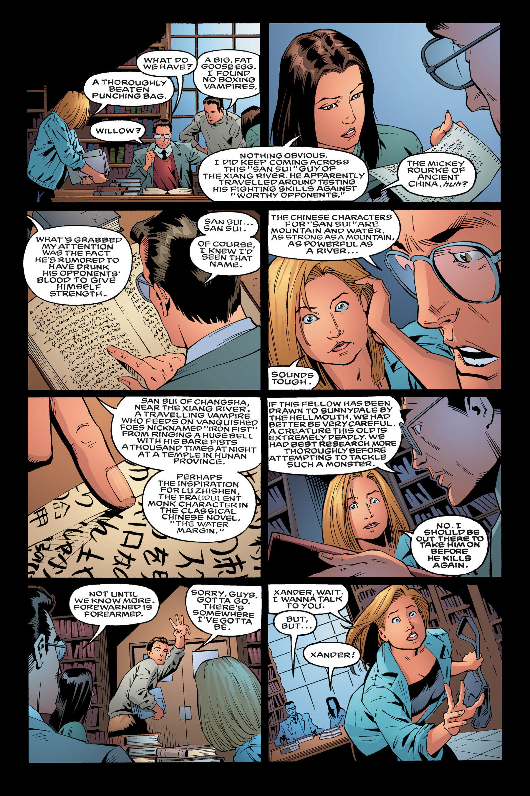 Read online Buffy the Vampire Slayer: Omnibus comic -  Issue # TPB 3 - 24