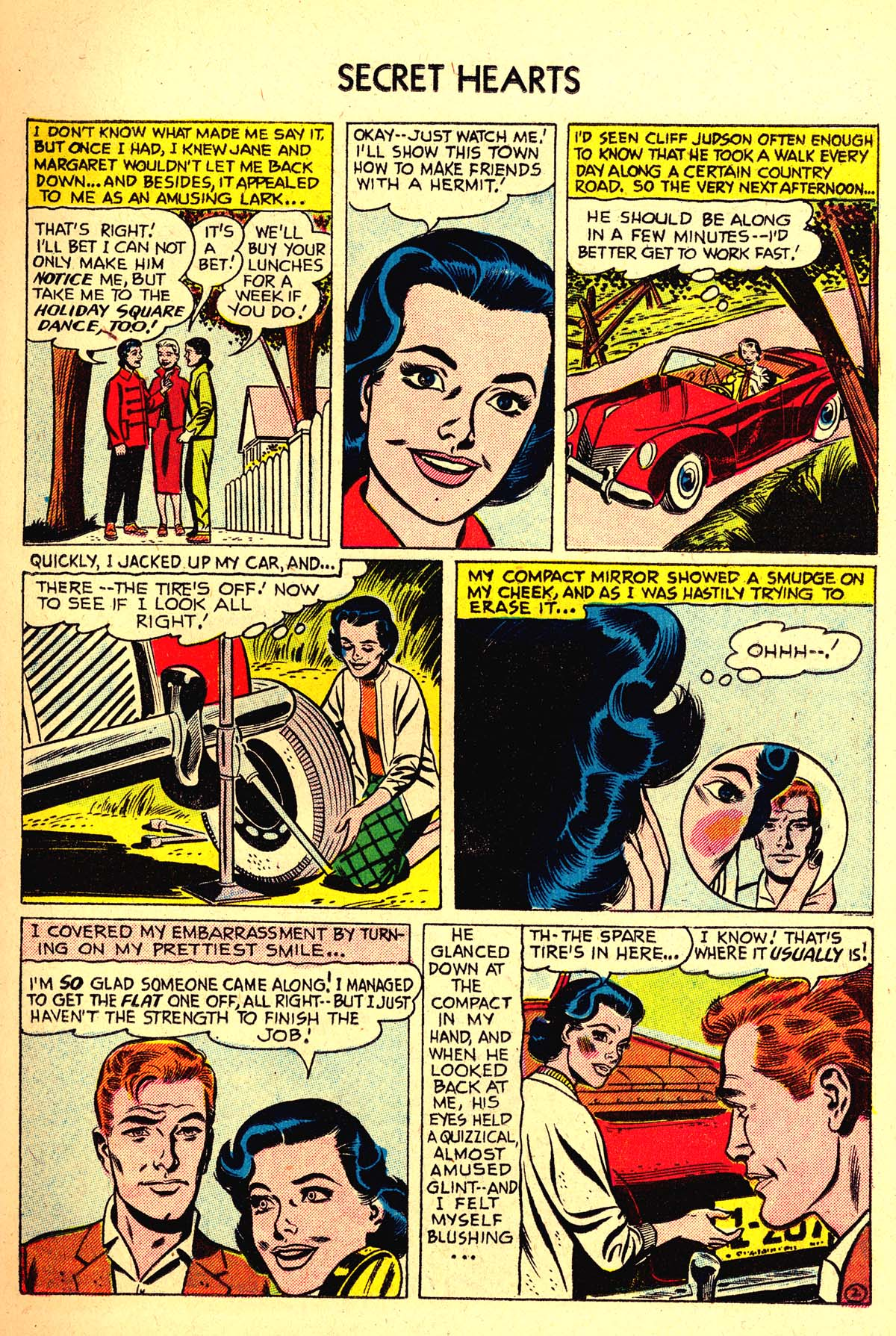 Read online Secret Hearts comic -  Issue #37 - 11