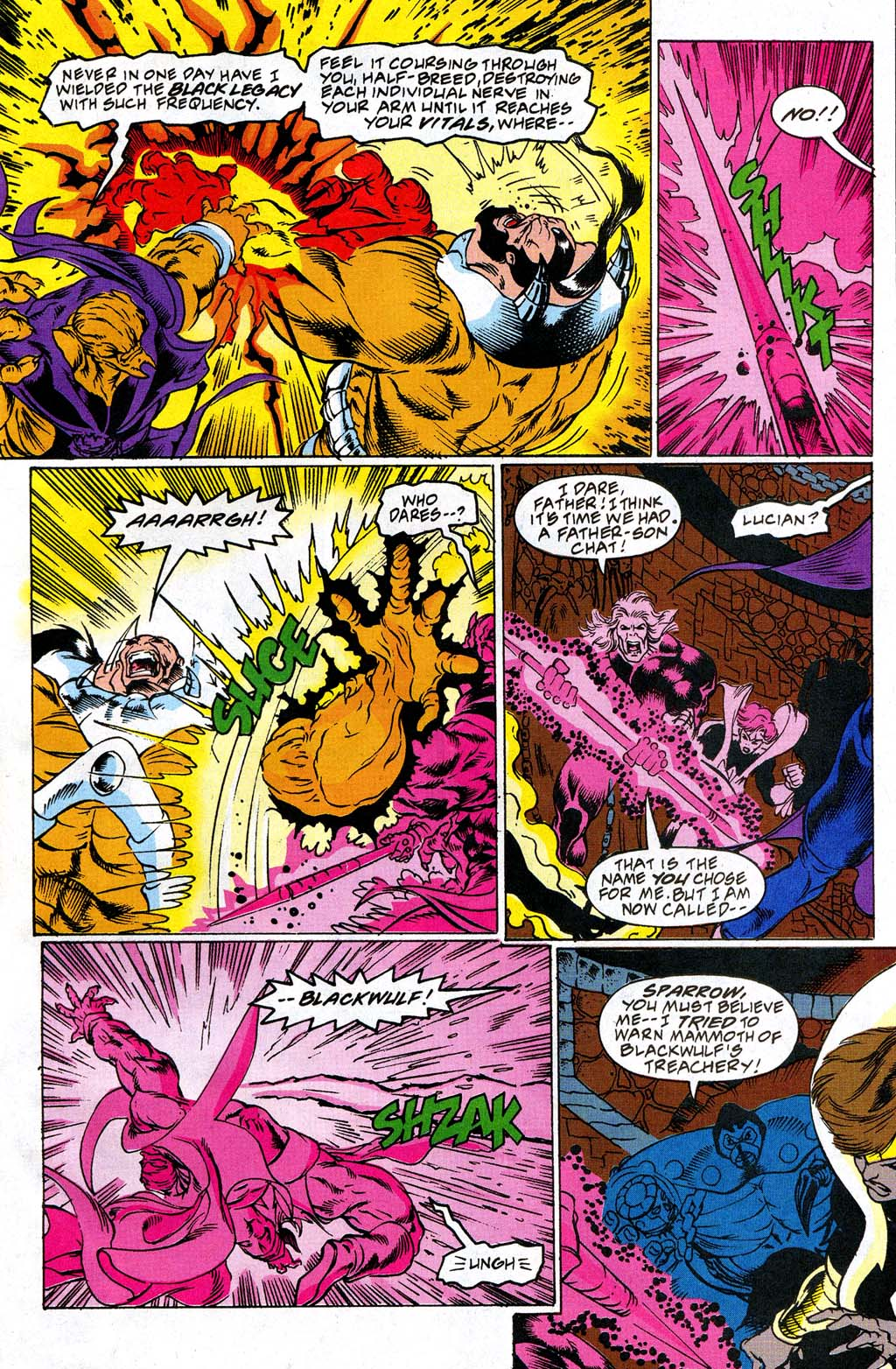 Read online Blackwulf comic -  Issue #10 - 12