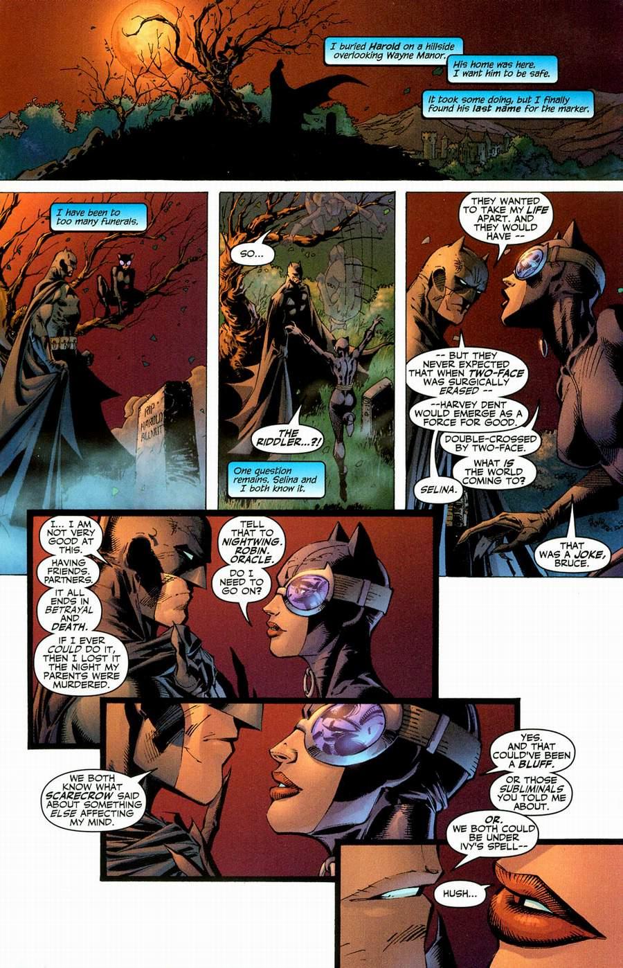 Read online Batman: Hush comic -  Issue #12 - 22