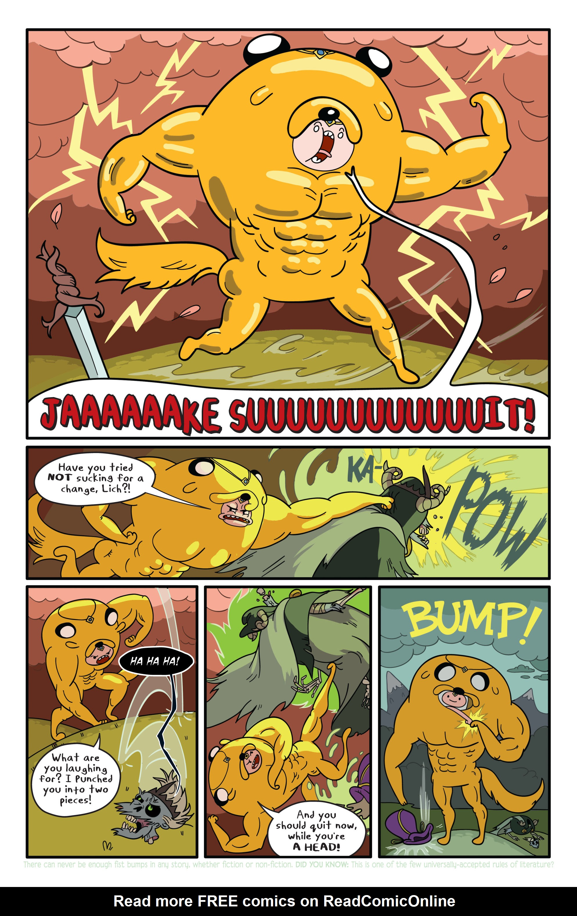 Read online Adventure Time comic -  Issue #1 - 15