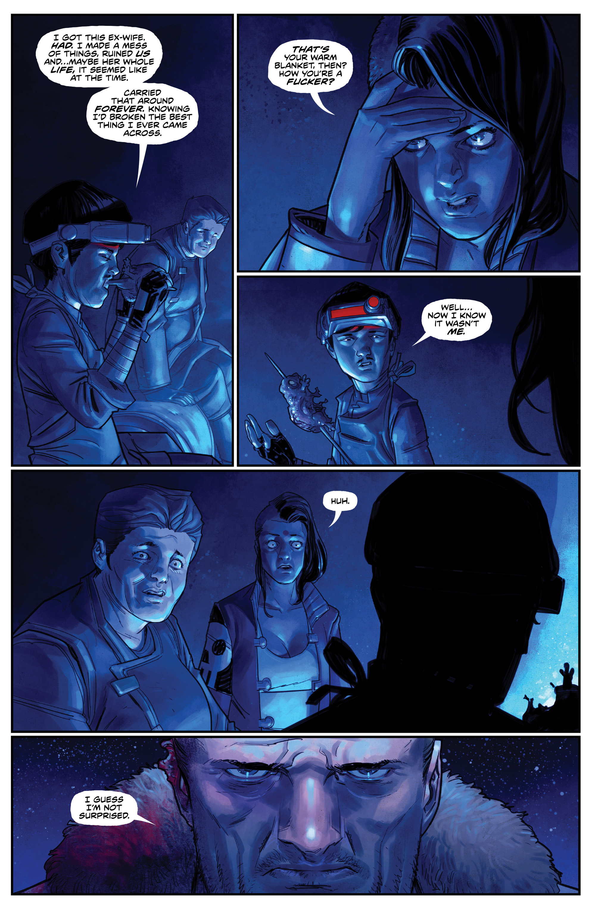 Read online Drifter (2014) comic -  Issue #19 - 7