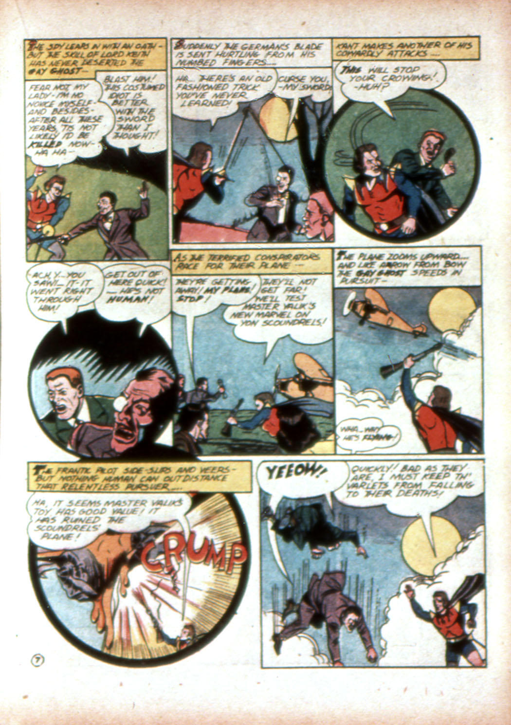 Read online Sensation (Mystery) Comics comic -  Issue #19 - 31
