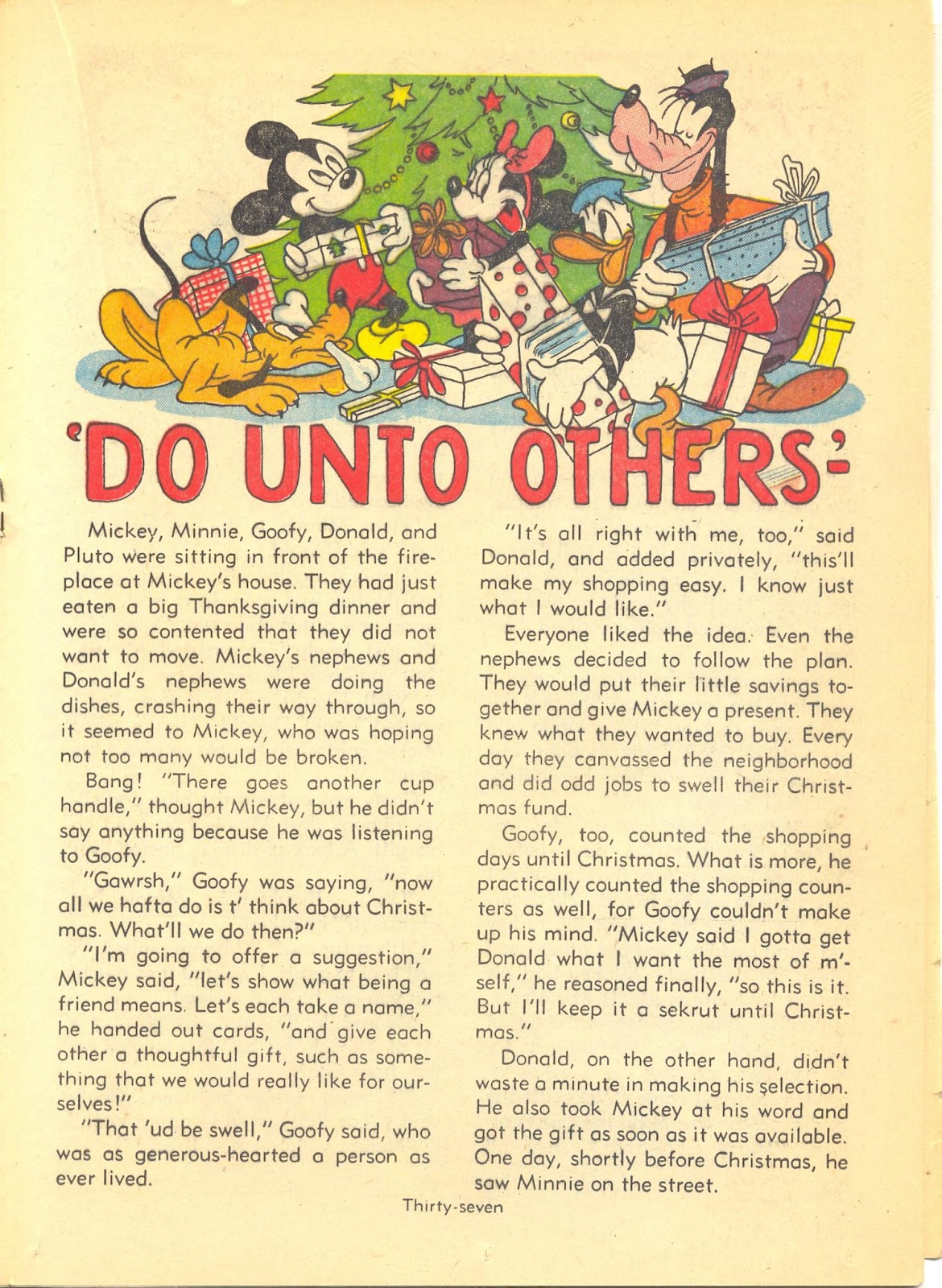 Walt Disney's Comics and Stories issue 40 - Page 39
