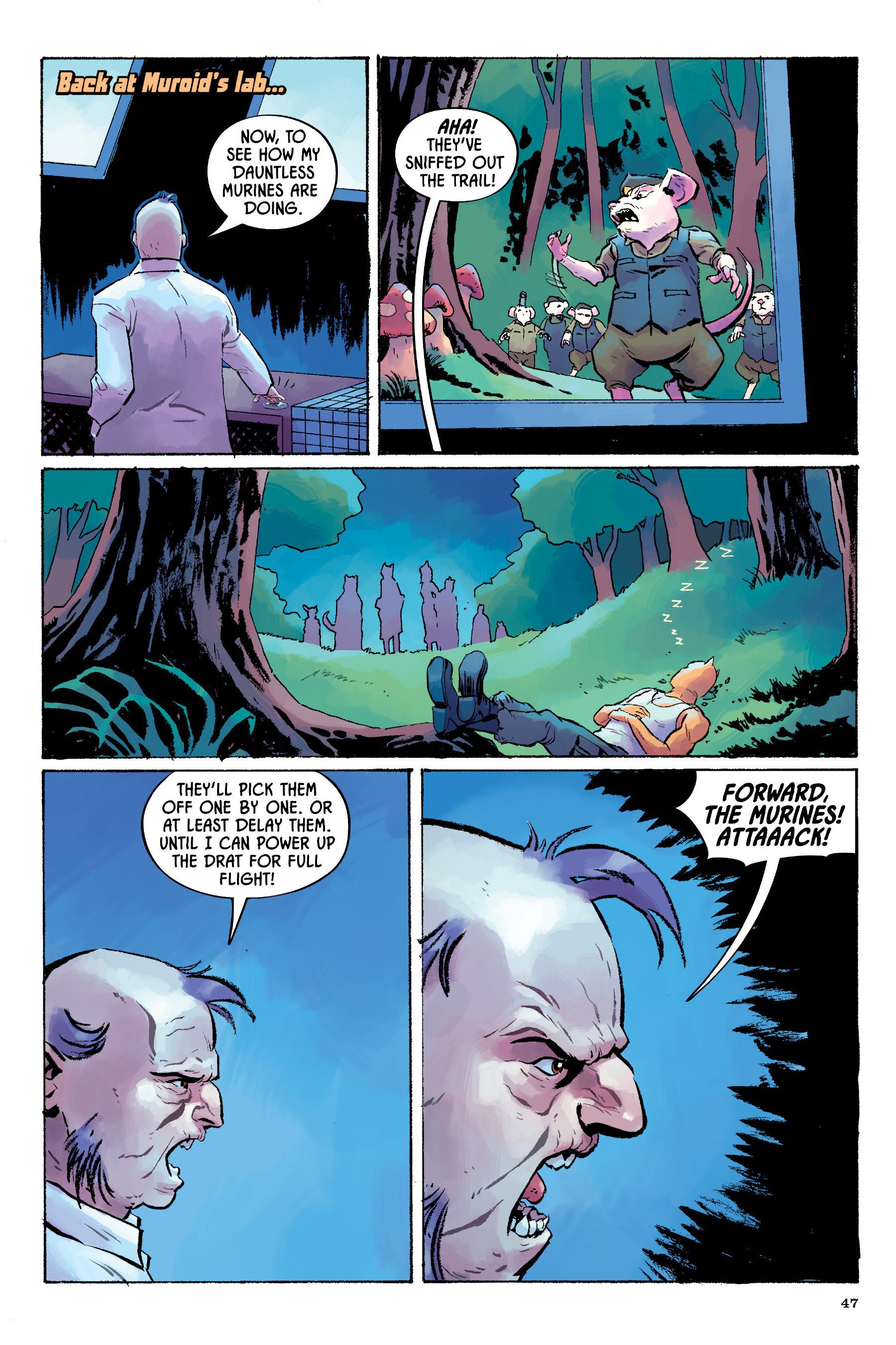 Read online Angel Catbird comic -  Issue # TPB 2 - 48