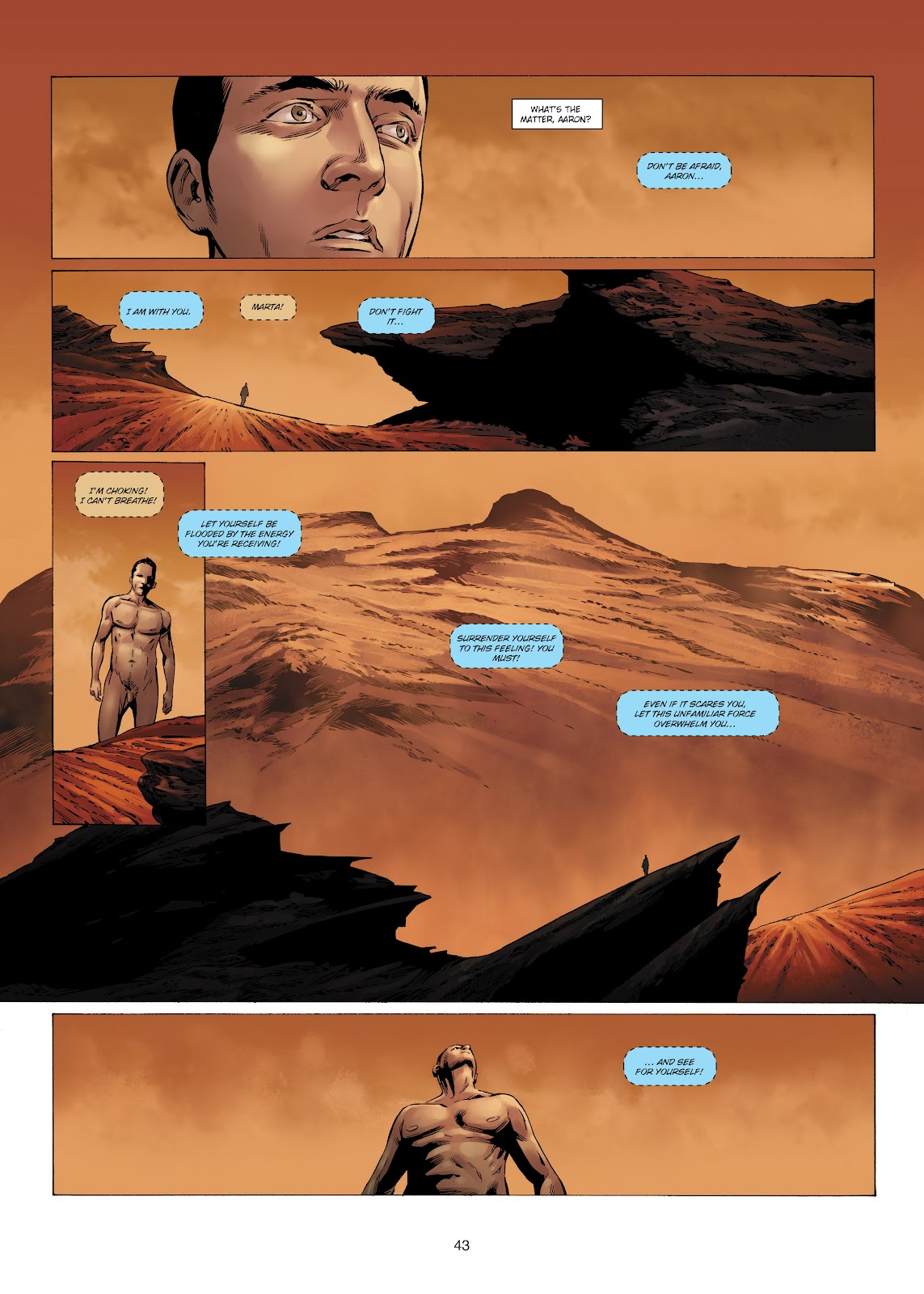 Read online Olympus Mons Vol. 1: Anomaly One comic -  Issue #4 - 41