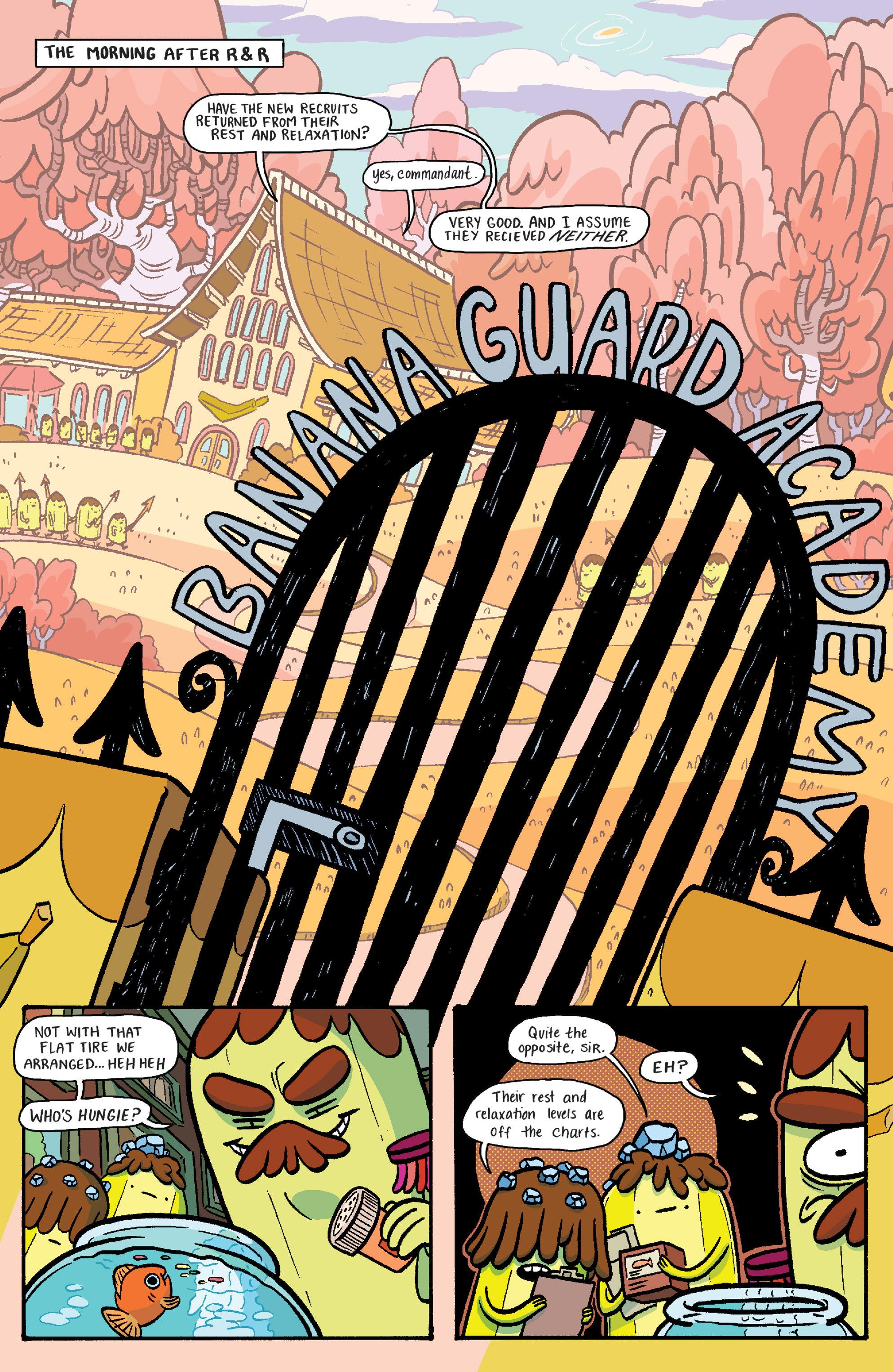 Read online Adventure Time: Banana Guard Academ comic -  Issue #4 - 3