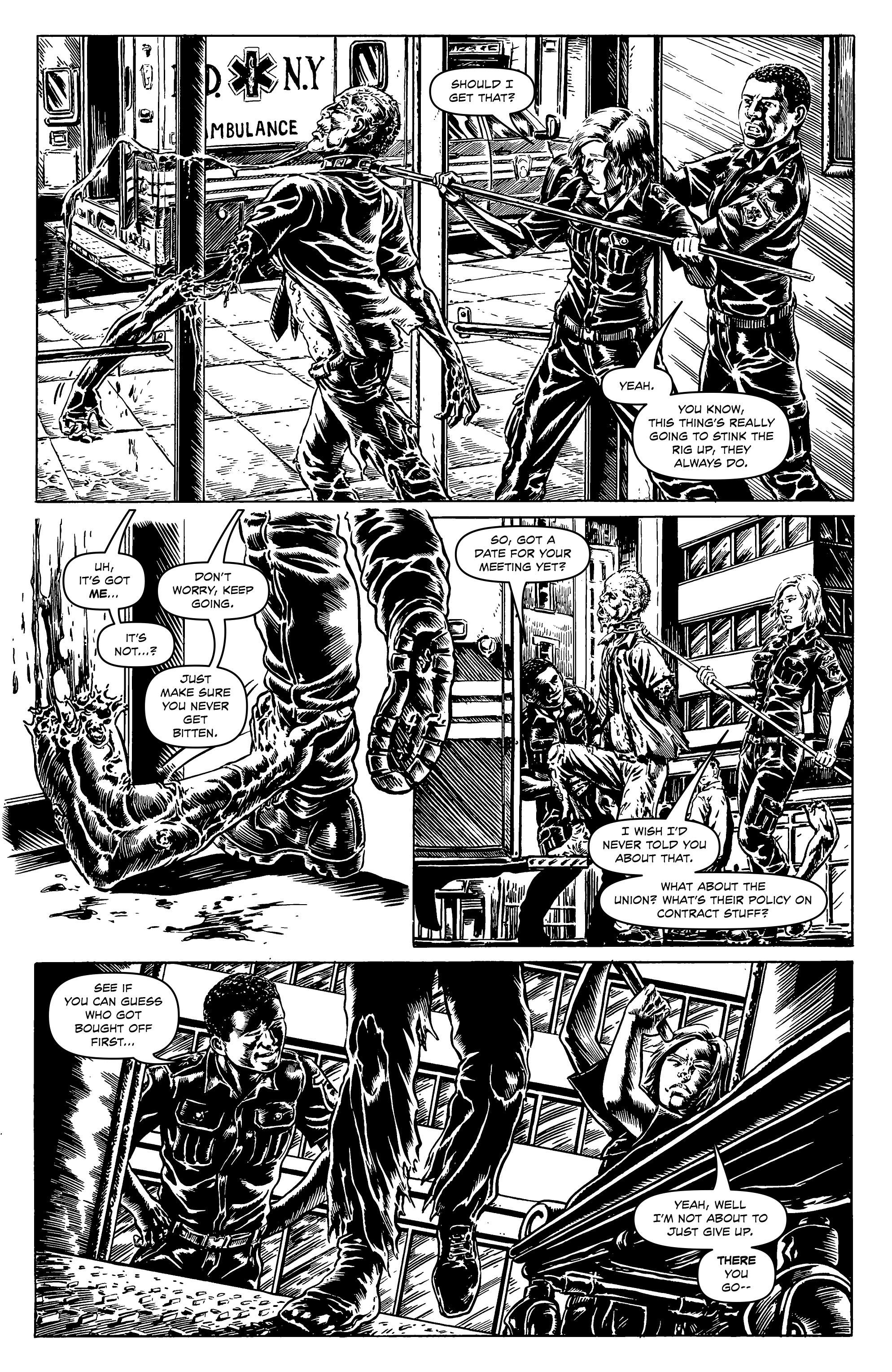 Read online Alan Moore's Cinema Purgatorio comic -  Issue #9 - 16