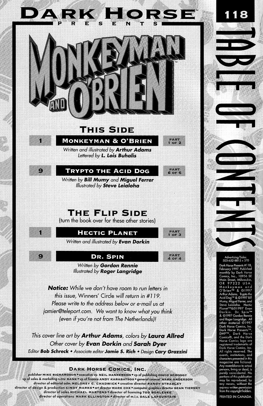 Dark Horse Presents (1986) 118 Page 2