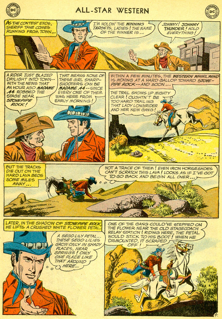 Read online All-Star Western (1951) comic -  Issue #118 - 6