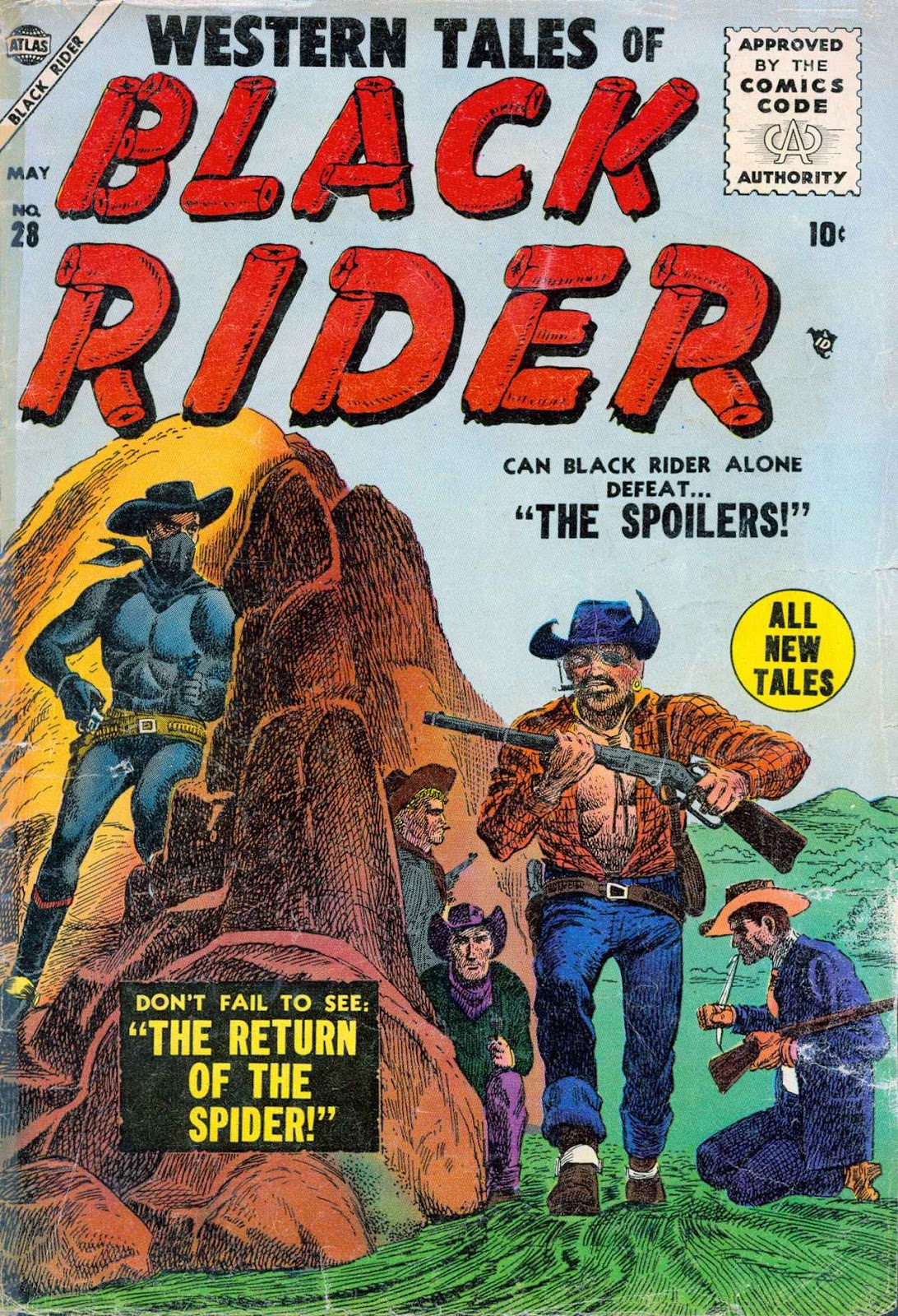 Western Tales of Black Rider issue 28 - Page 1