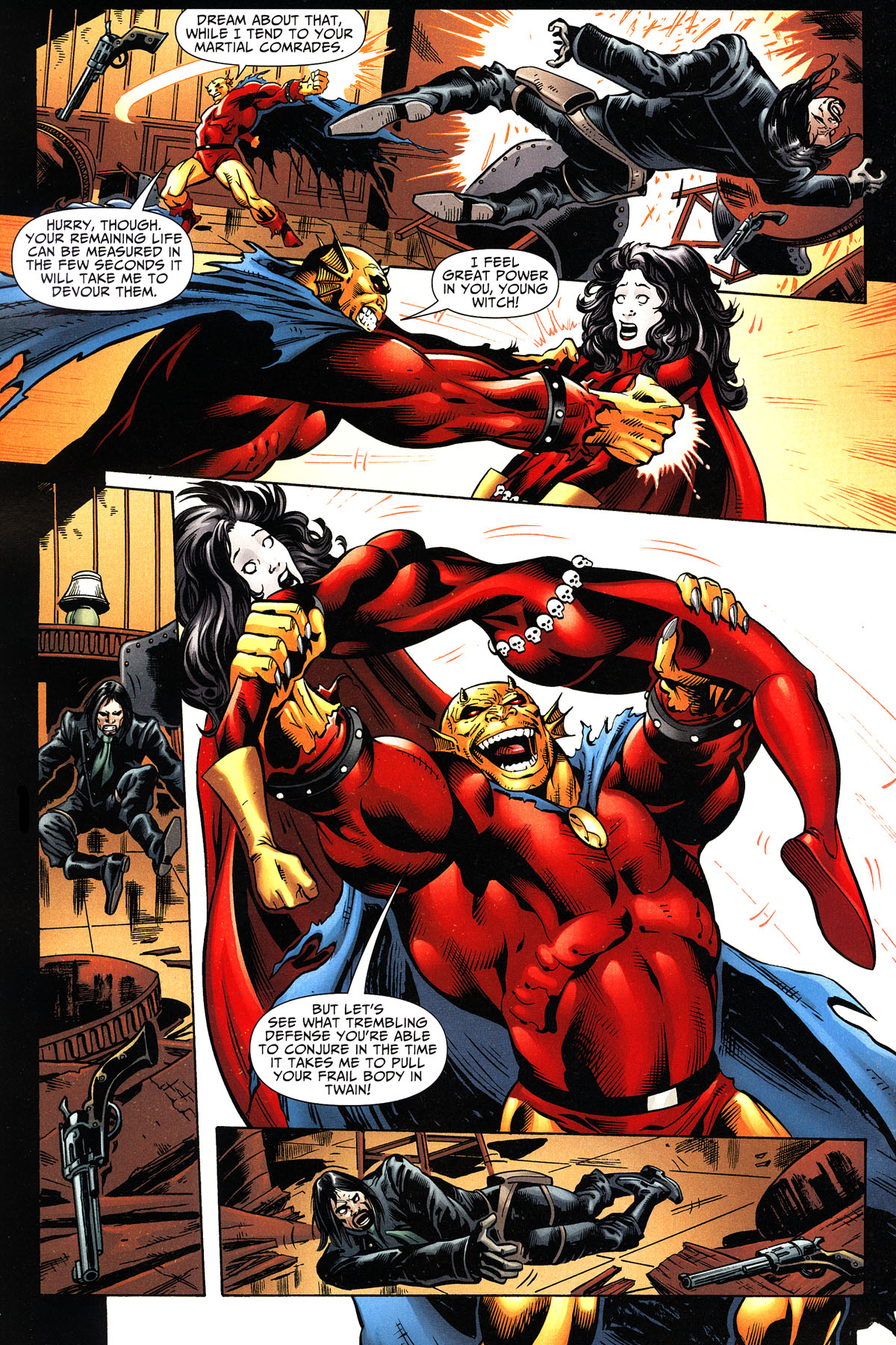 Read online Shadowpact comic -  Issue #11 - 20