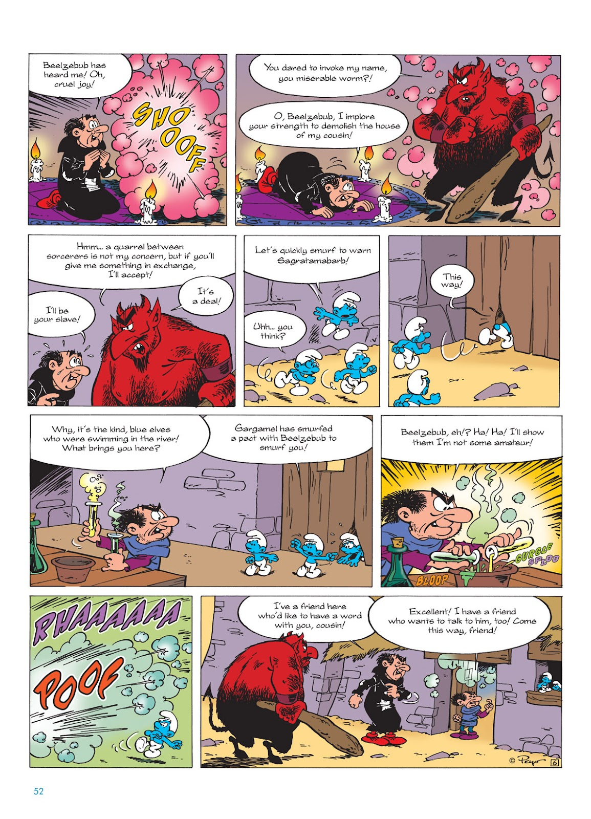 Read online The Smurfs comic -  Issue #9 - 52