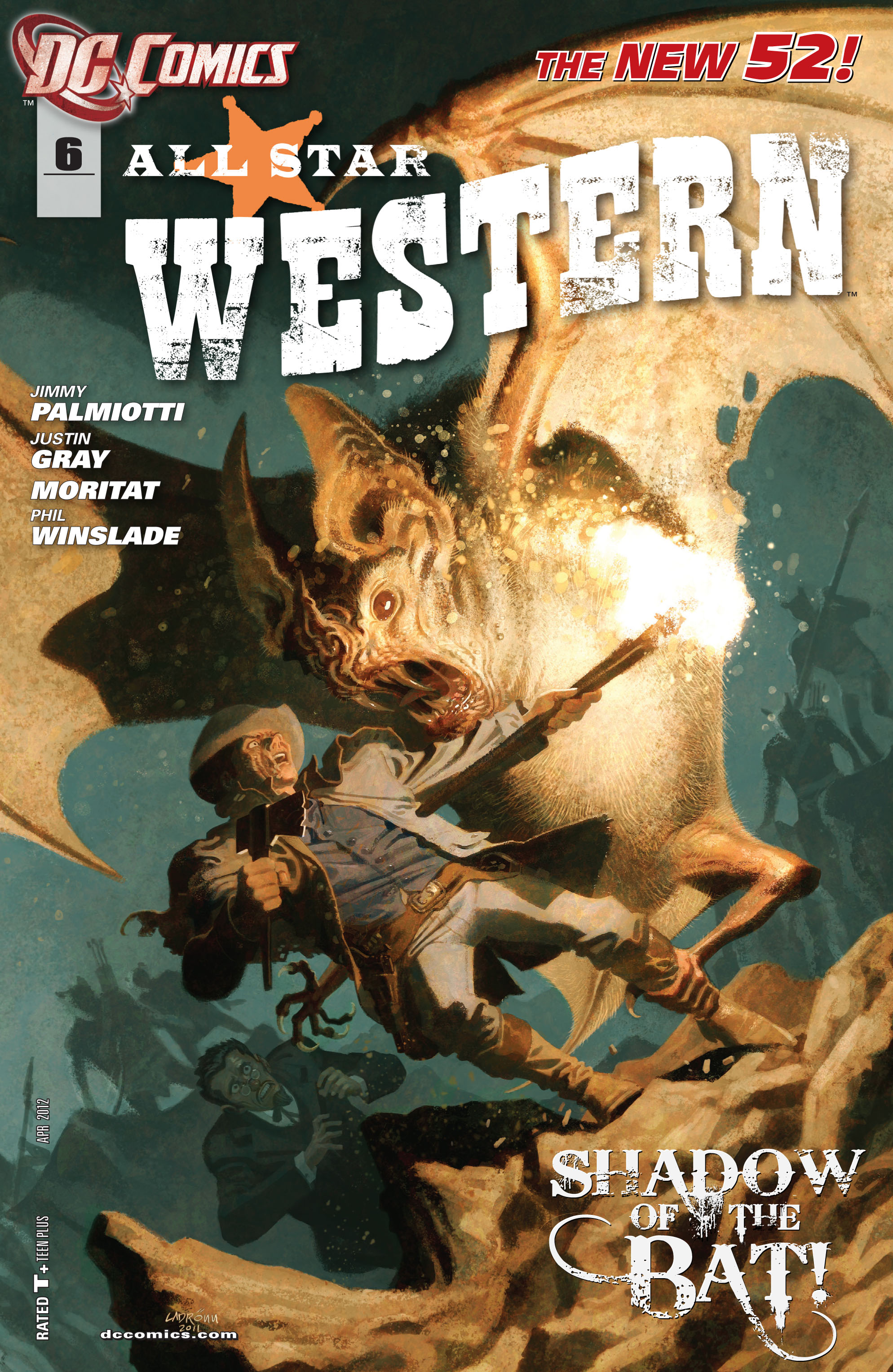 Read online All-Star Western (2011) comic -  Issue #6 - 1