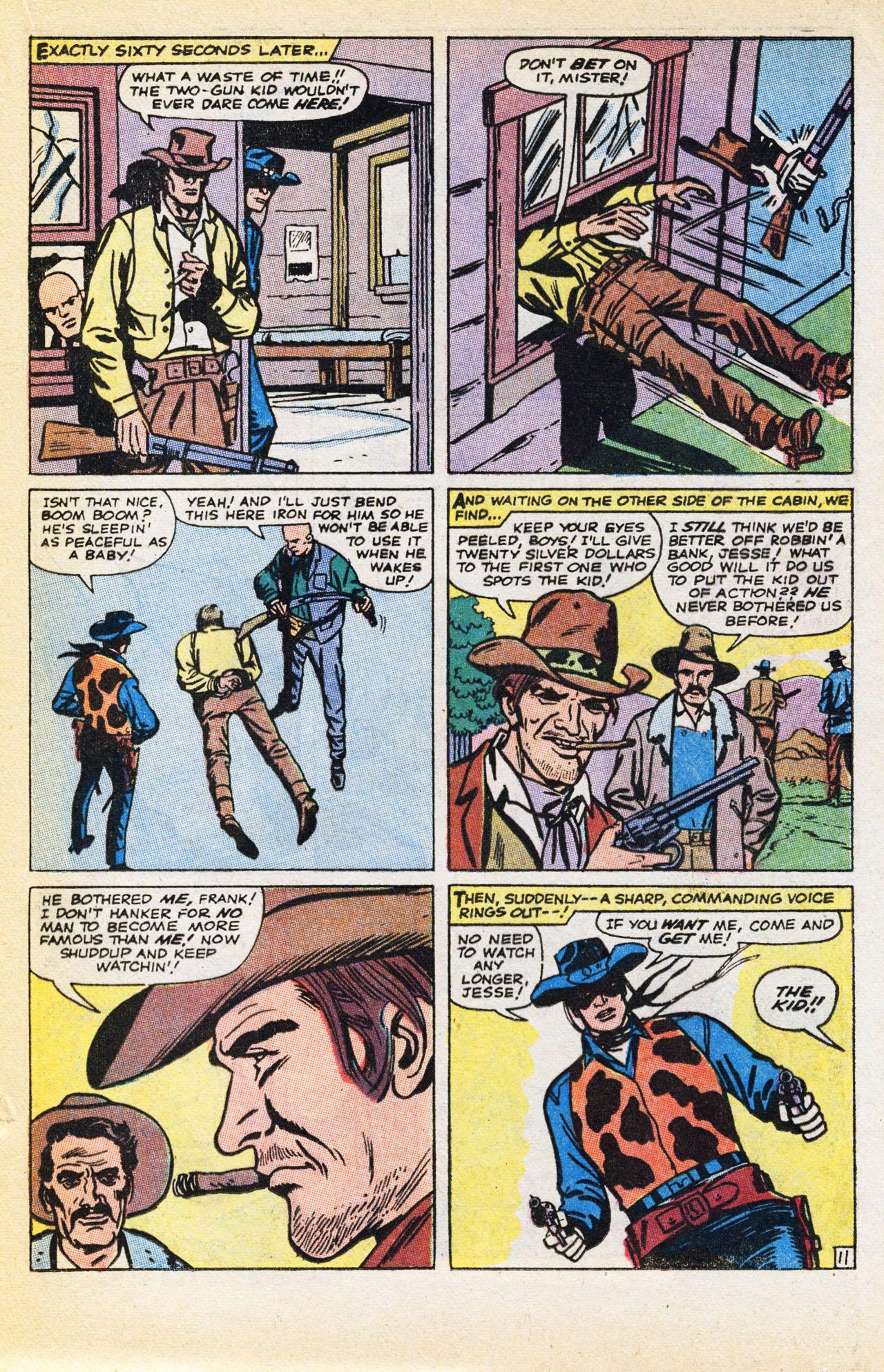 Read online Two-Gun Kid comic -  Issue #94 - 17