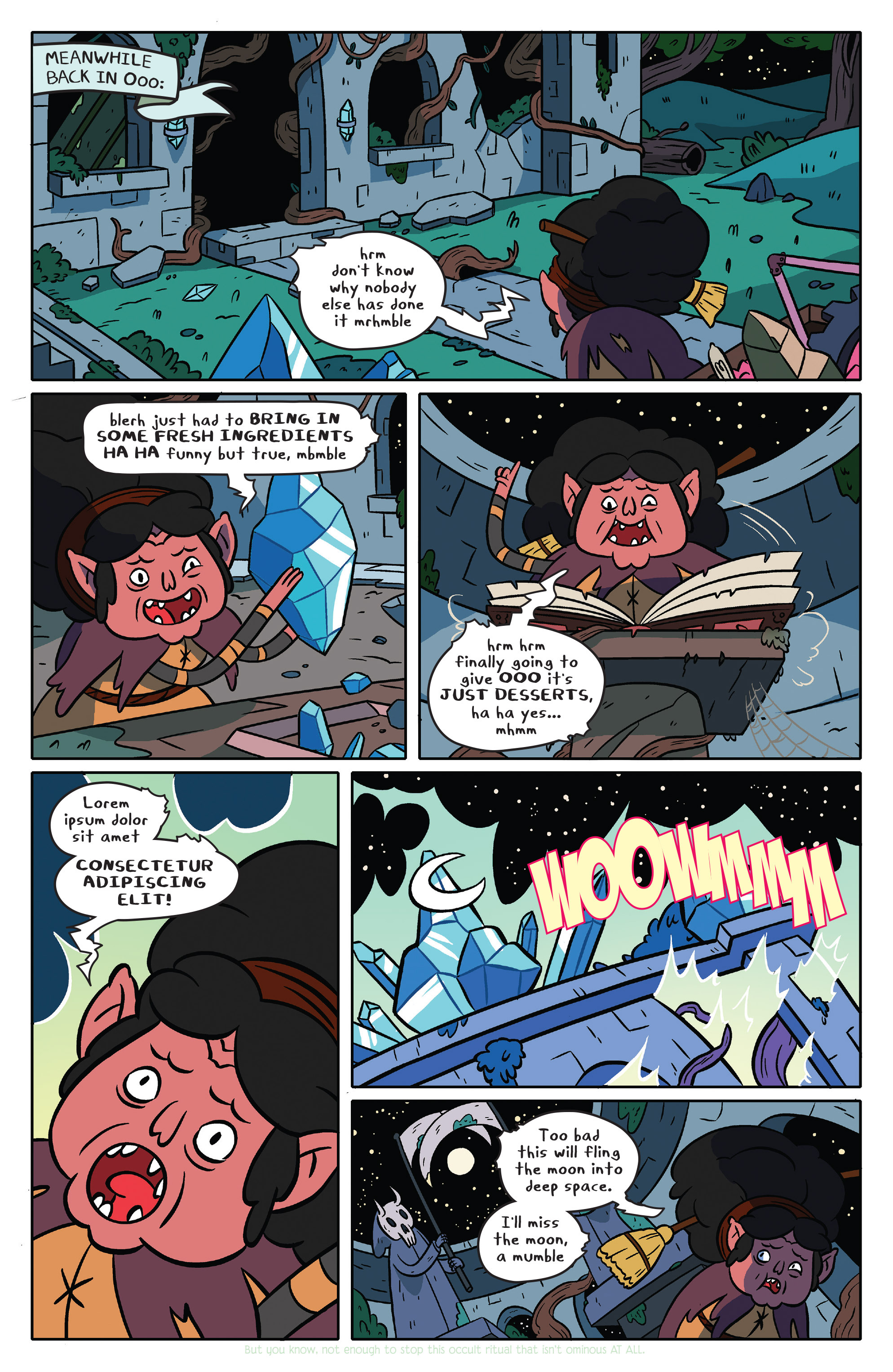Read online Adventure Time comic -  Issue #36 - 6