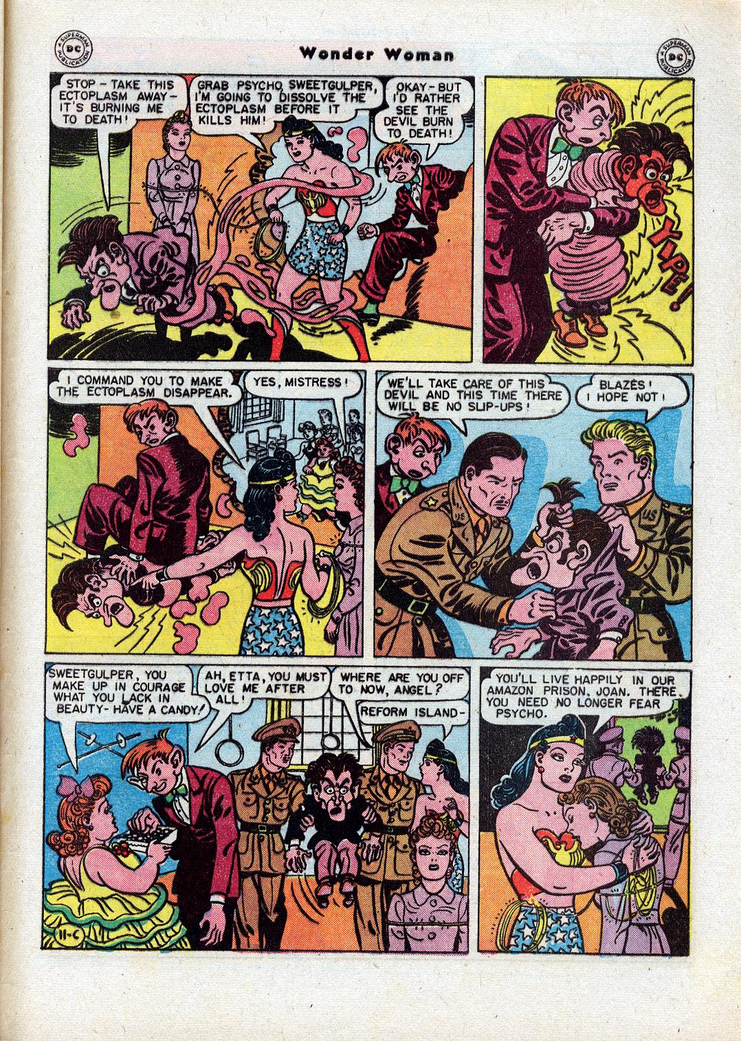 Read online Wonder Woman (1942) comic -  Issue #18 - 49