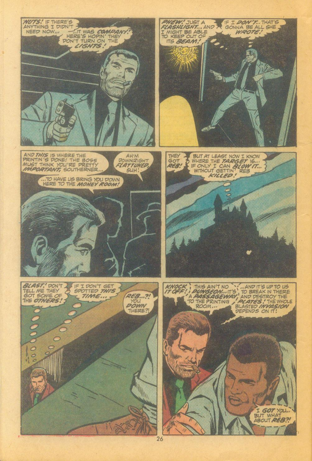 Read online Sgt. Fury comic -  Issue #102 - 28