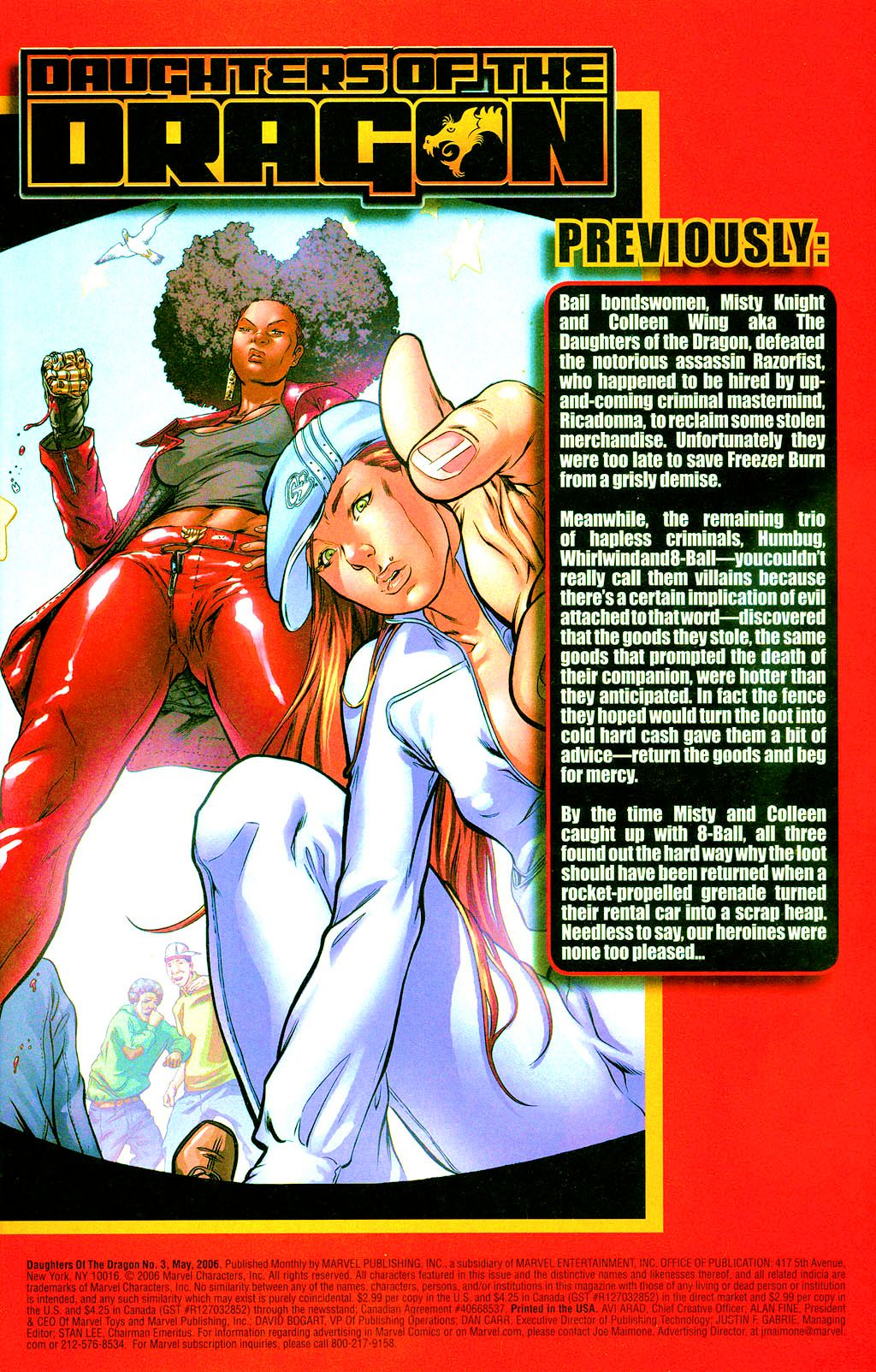 Read online Daughters of the Dragon comic -  Issue #3 - 2