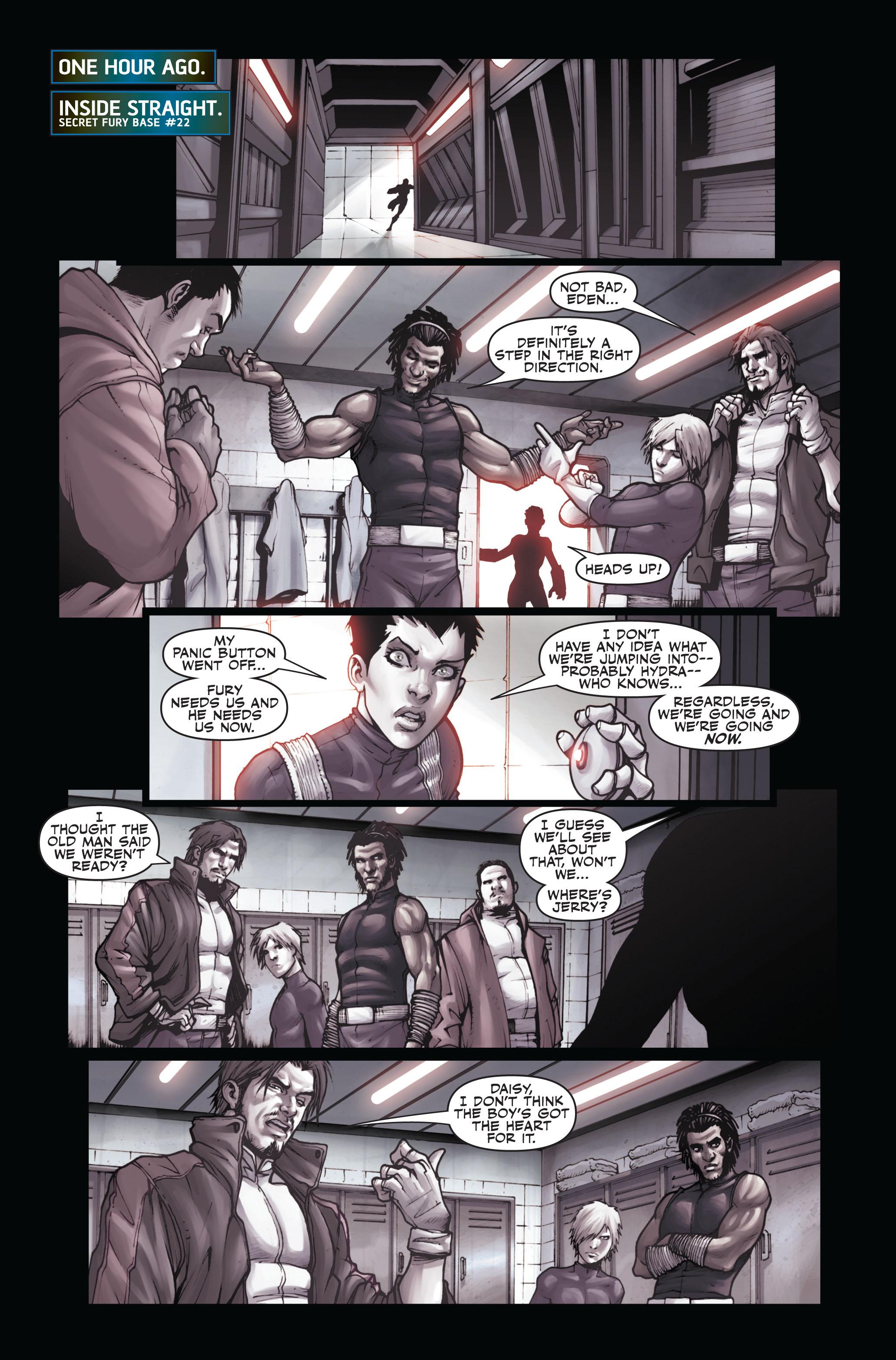 Read online Secret Warriors comic -  Issue #6 - 4