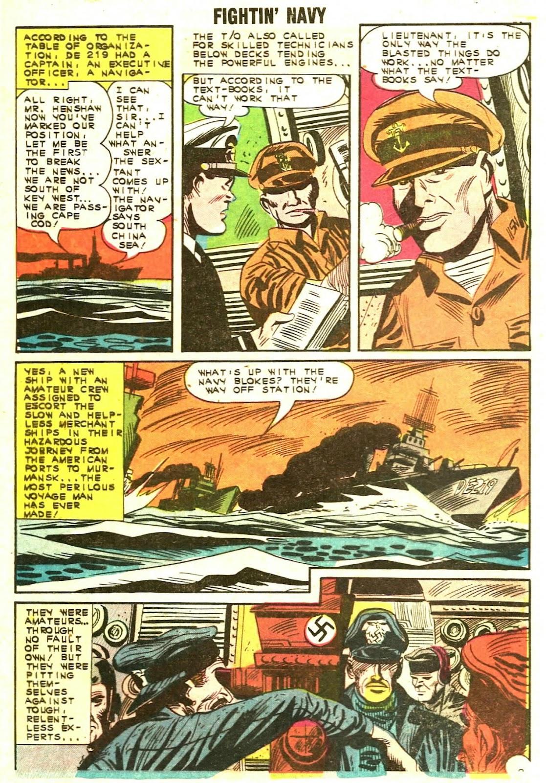 Read online Fightin' Navy comic -  Issue #110 - 4