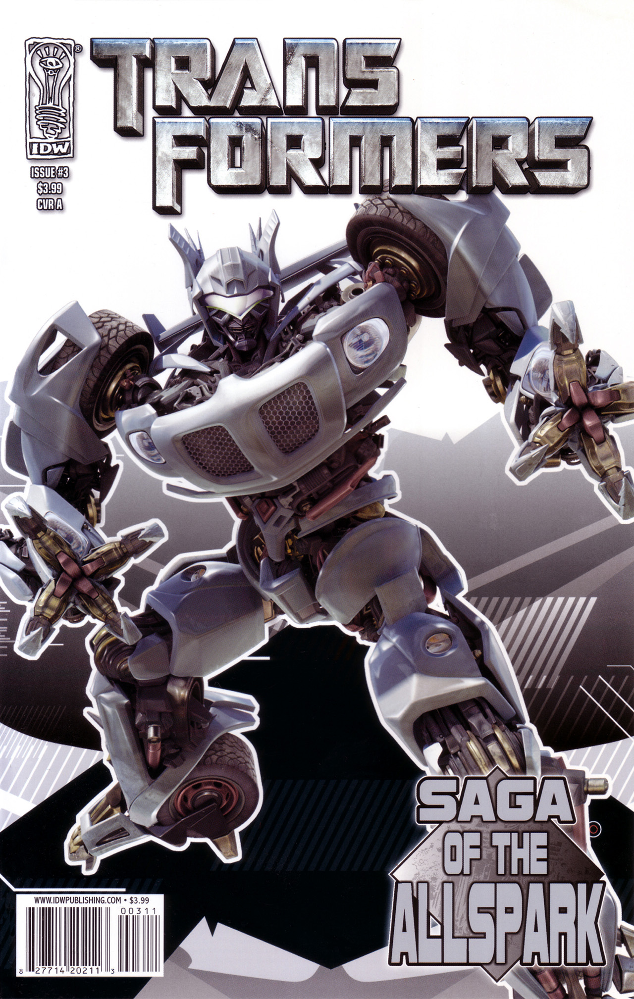 Read online Transformers: Saga of the Allspark comic -  Issue #3 - 1
