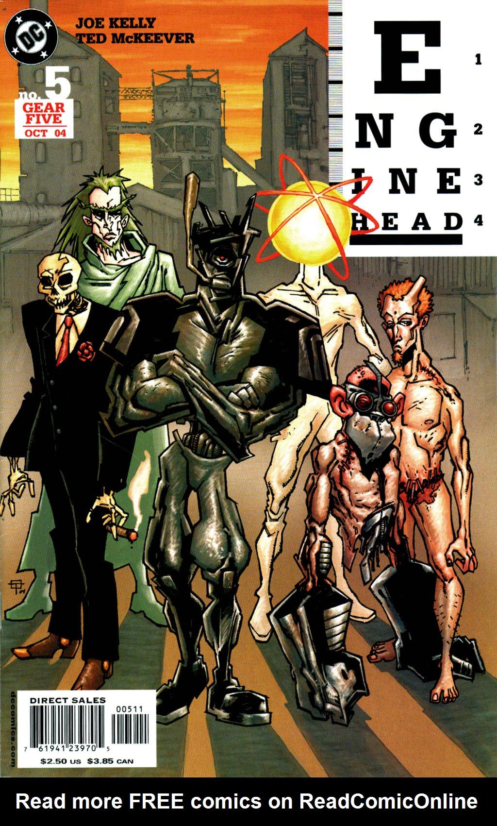 Read online Enginehead comic -  Issue #5 - 1