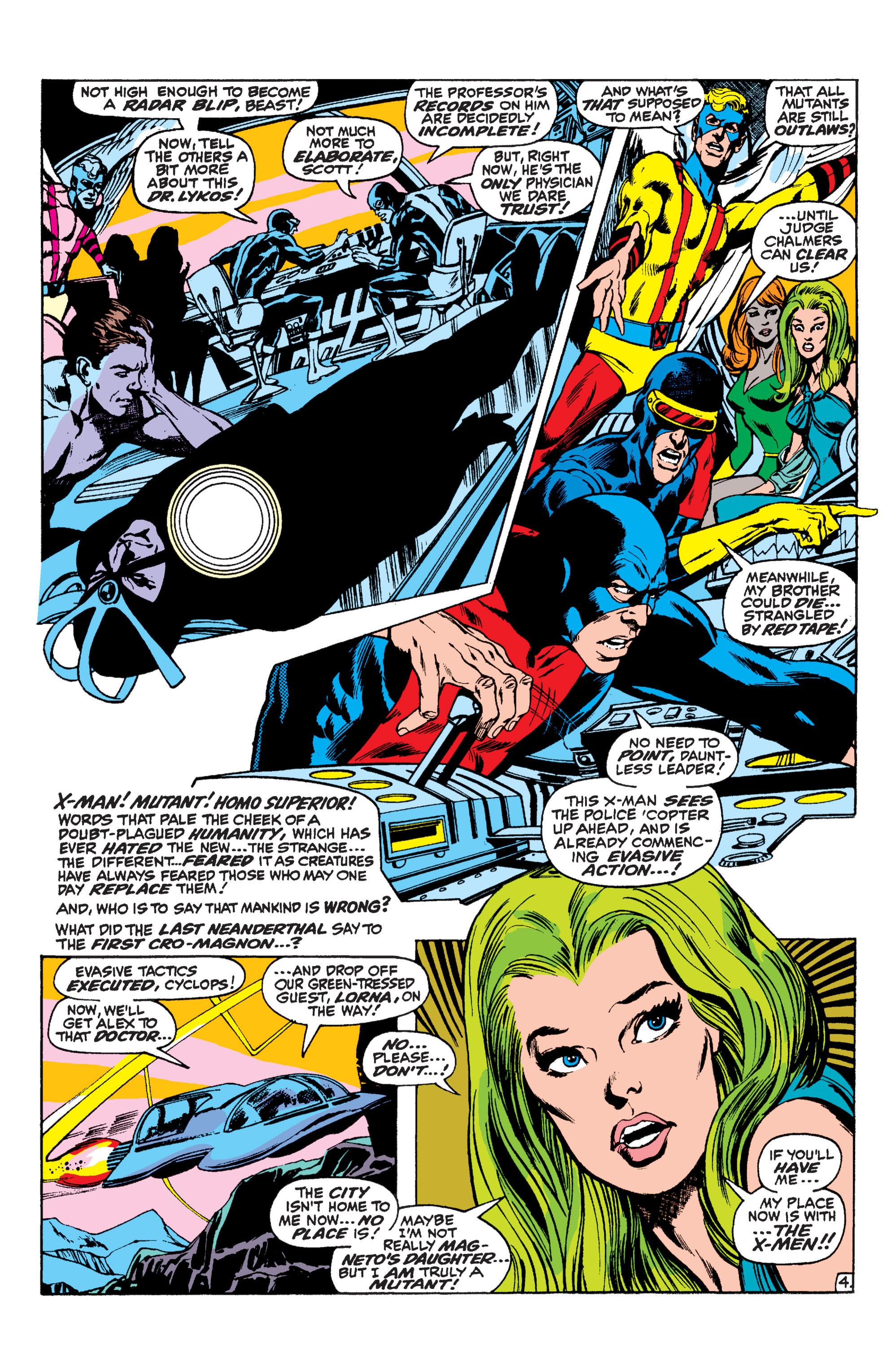 Read online Uncanny X-Men (1963) comic -  Issue #60 - 4