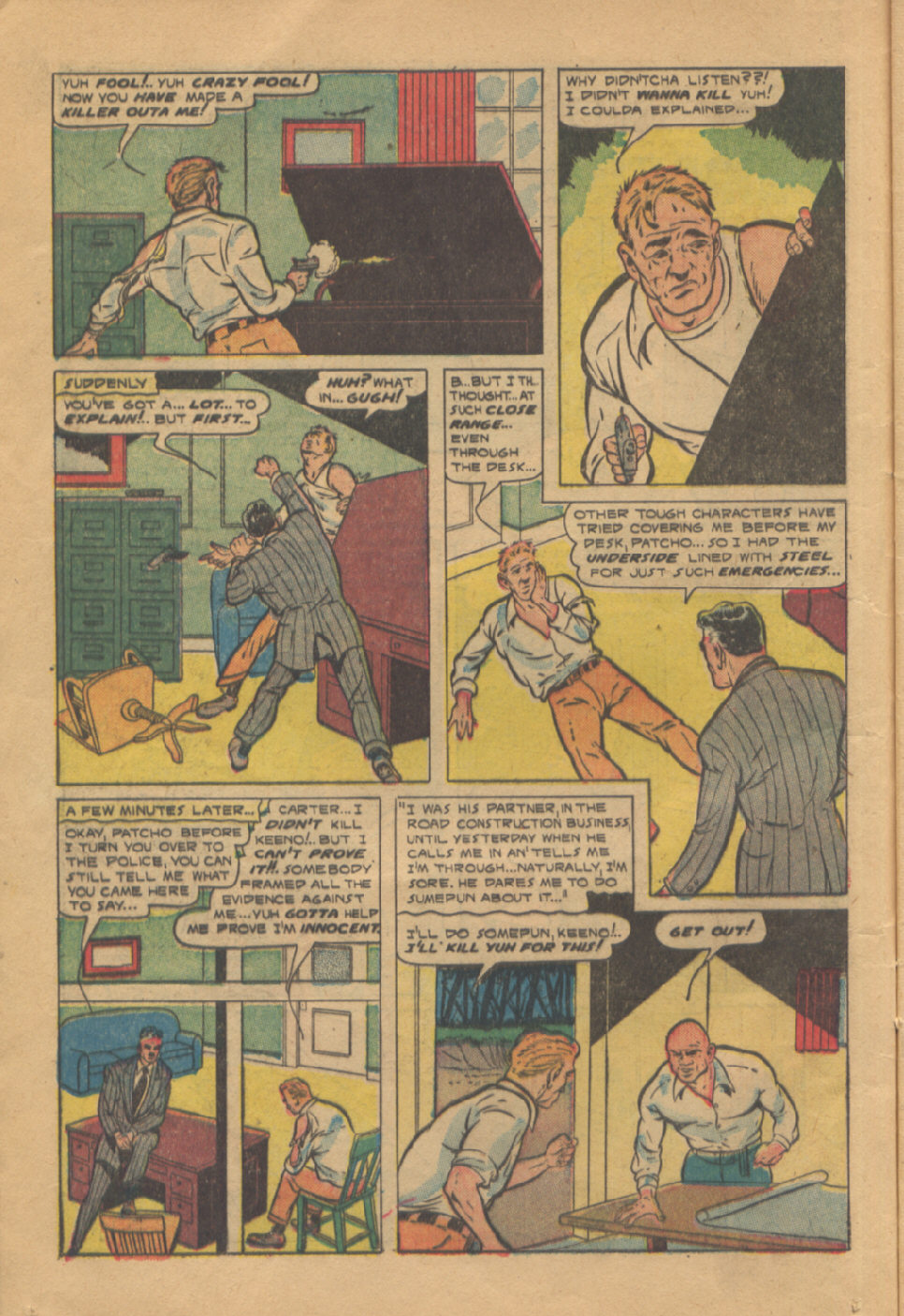 Read online Shadow Comics comic -  Issue #95 - 18