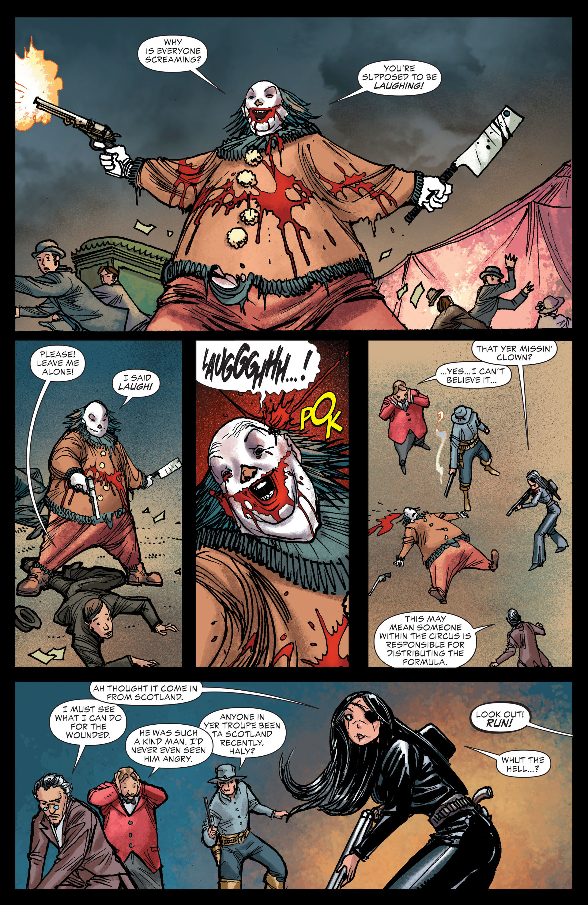 Read online All-Star Western (2011) comic -  Issue #13 - 15