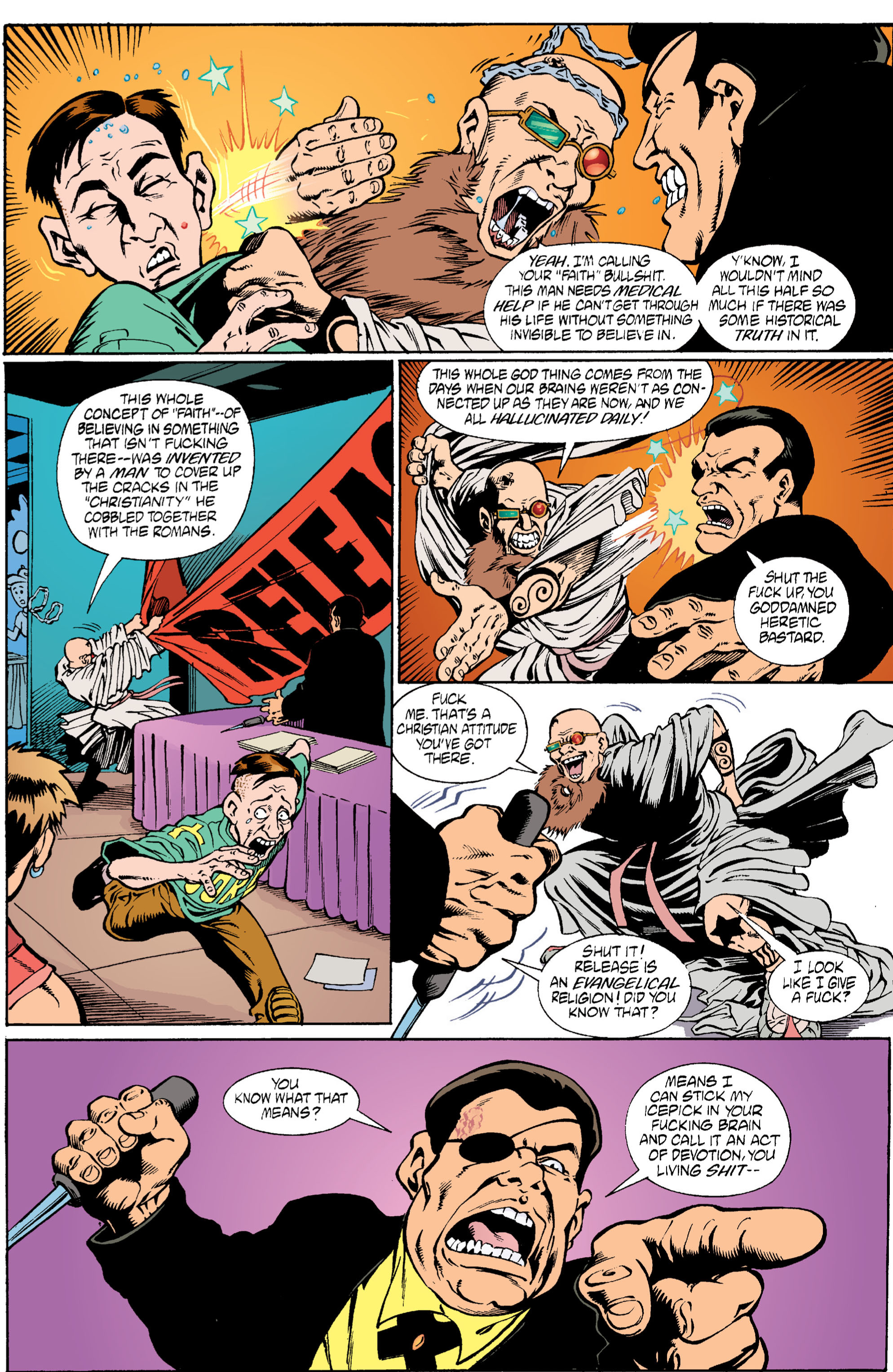Read online Transmetropolitan comic -  Issue #6 - 20