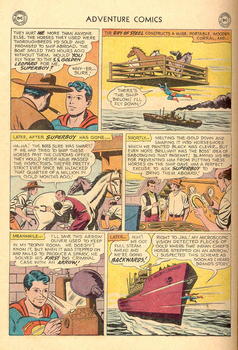 Read online Adventure Comics (1938) comic -  Issue #258 - 14
