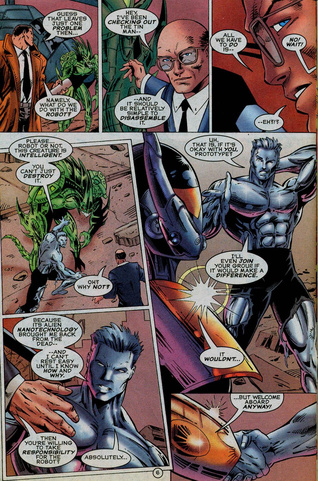Read online UltraForce (1995) comic -  Issue #13 - 7