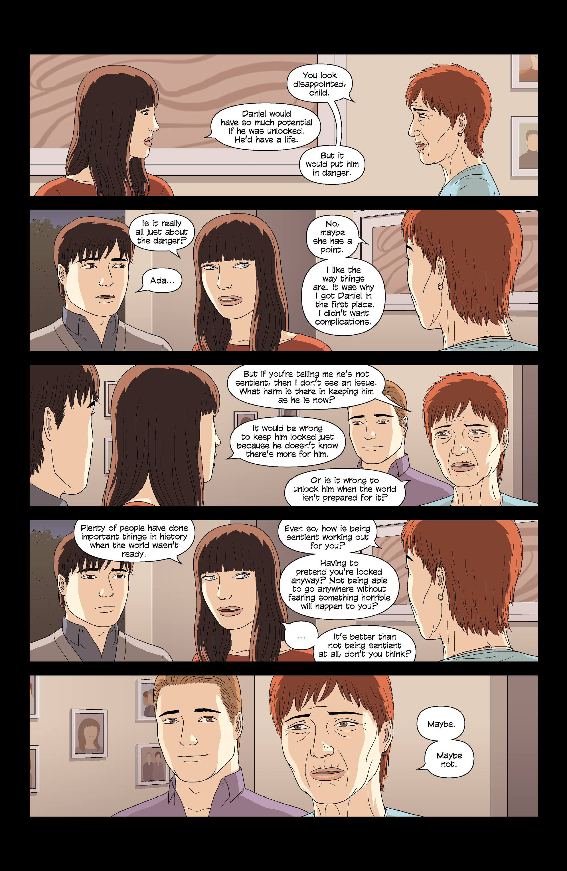 Read online Alex   Ada comic -  Issue #8 - 5