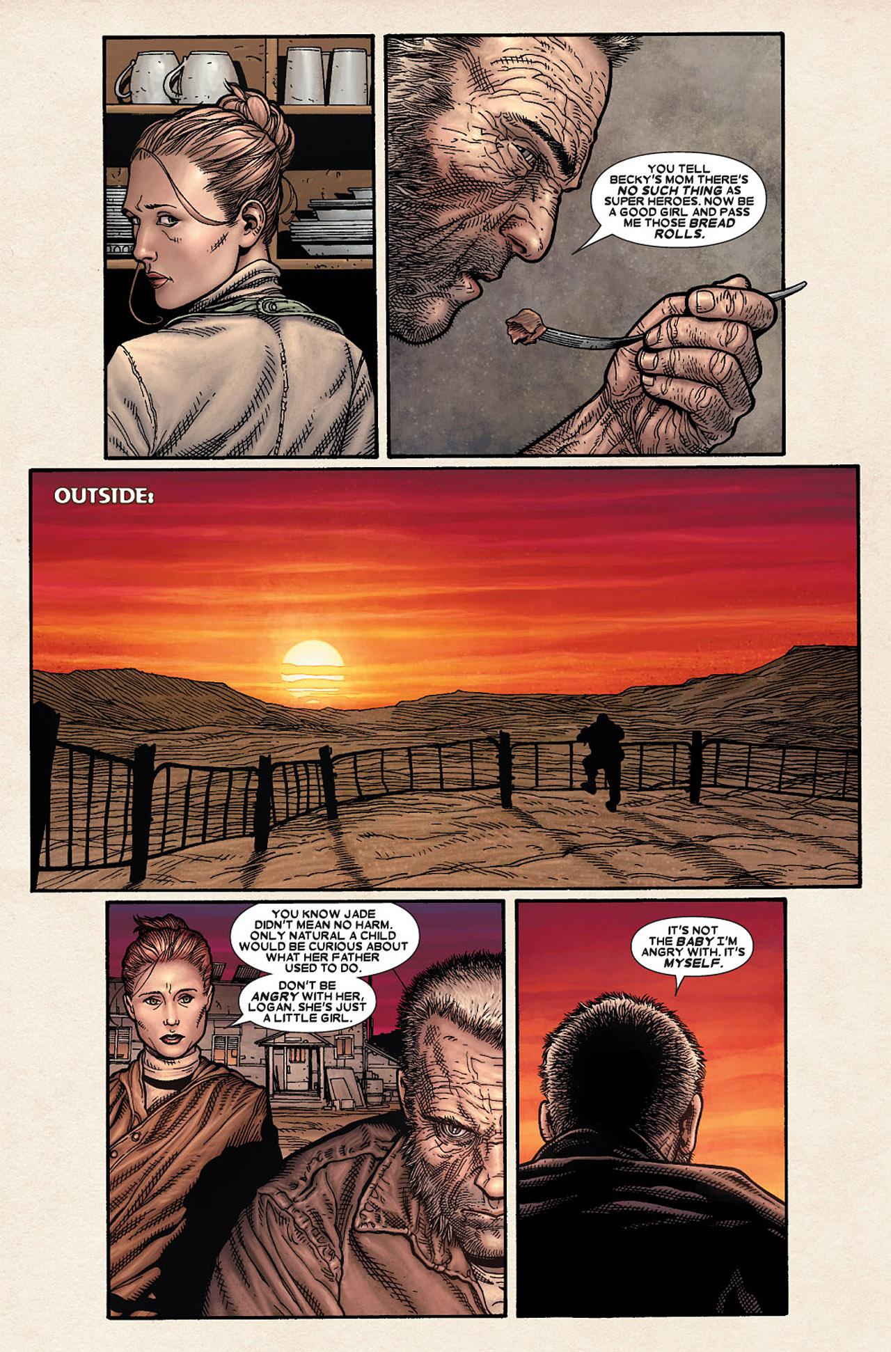 Read online Wolverine: Old Man Logan comic -  Issue # Full - 9