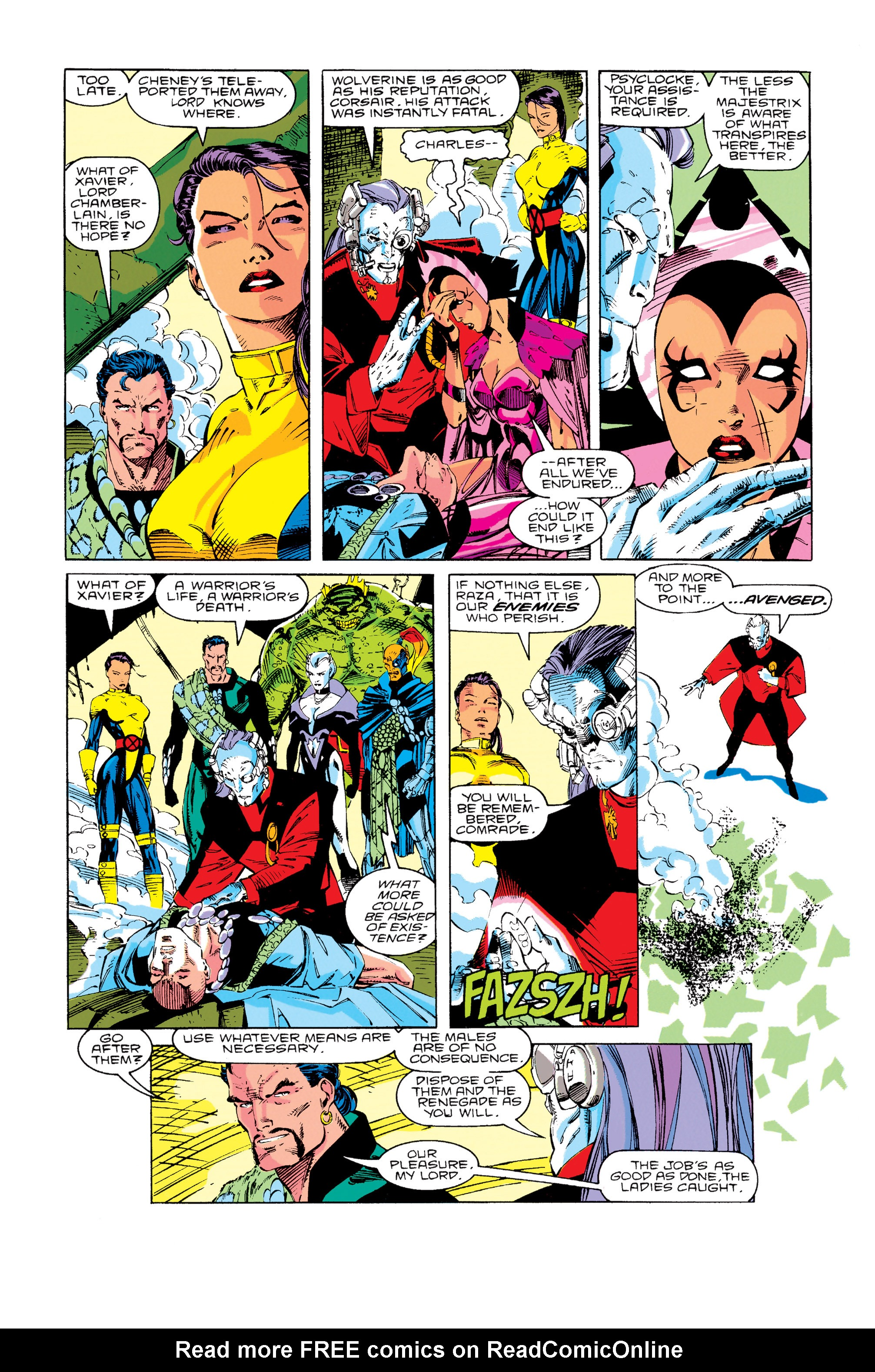 Read online Uncanny X-Men (1963) comic -  Issue #276 - 14
