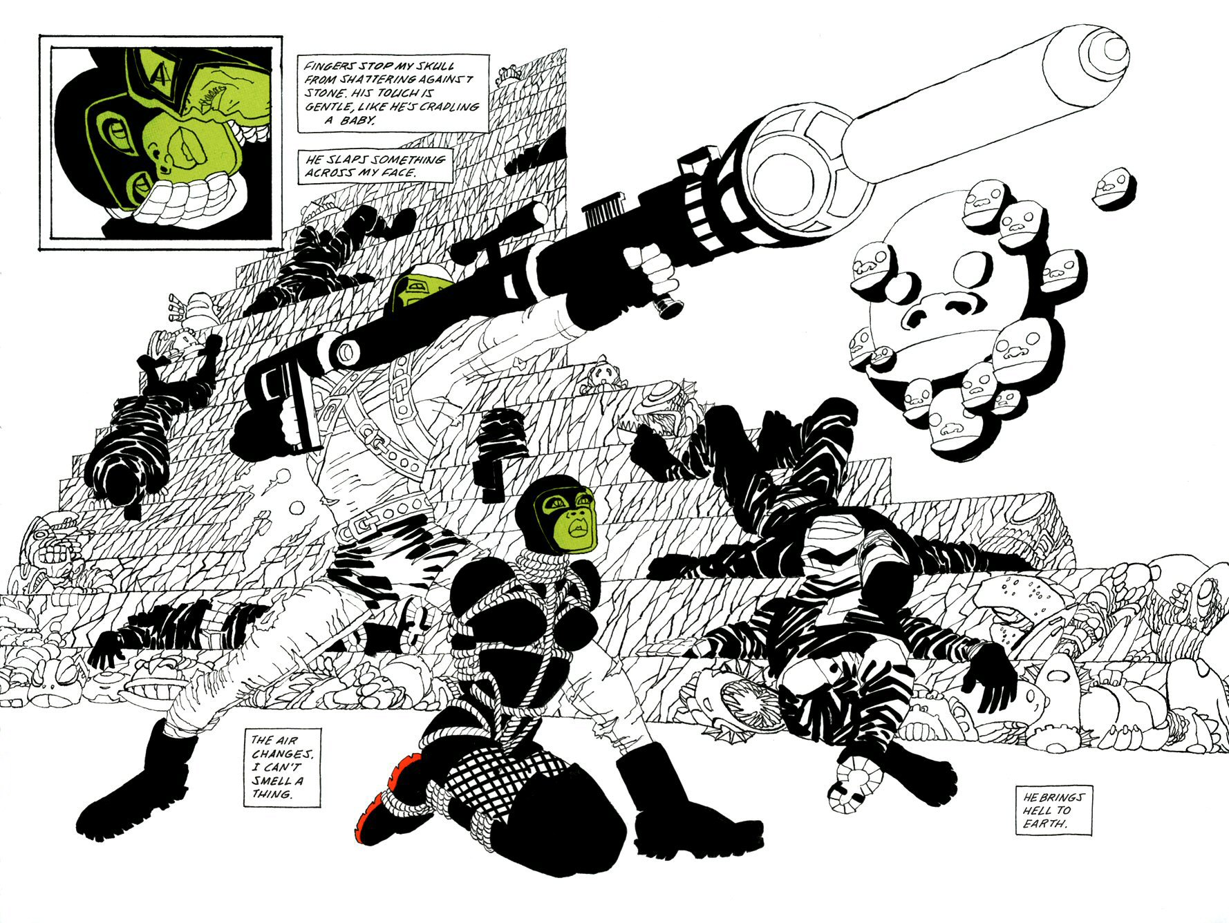 Read online Frank Miller's Holy Terror comic -  Issue # TPB - 112