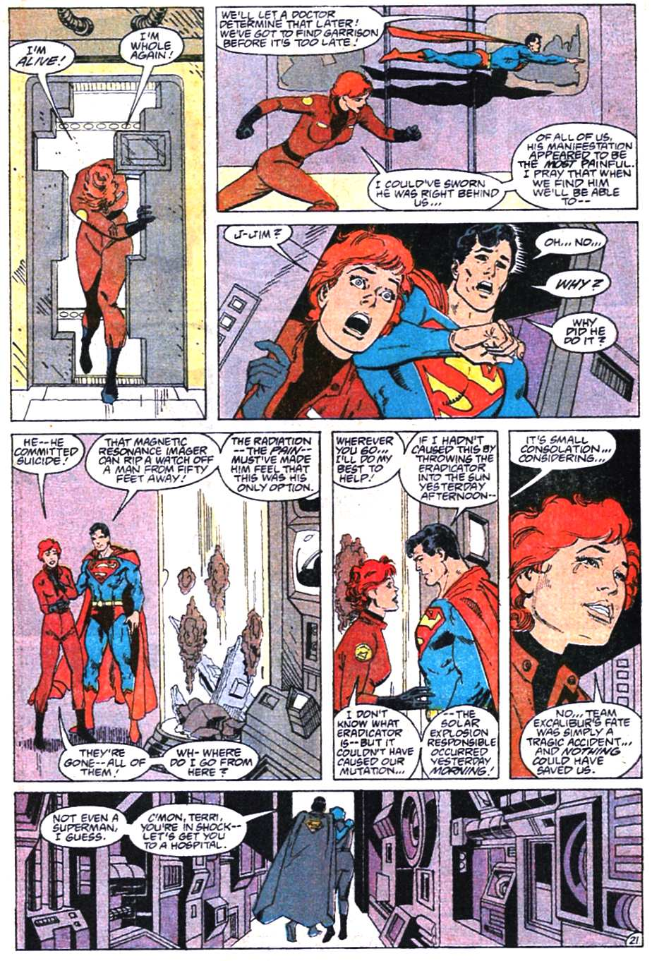 Adventures of Superman (1987) 466 Page 21