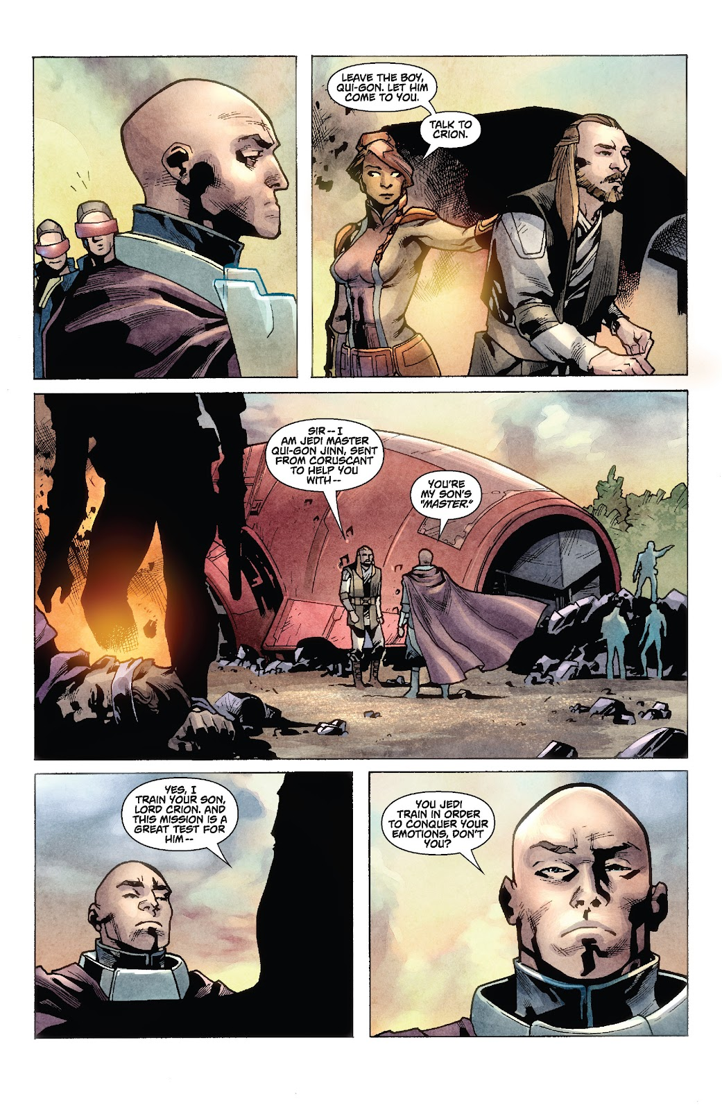 Read online Star Wars Legends: Rise of the Sith - Epic Collection comic -  Issue # TPB 1 (Part 2) - 9