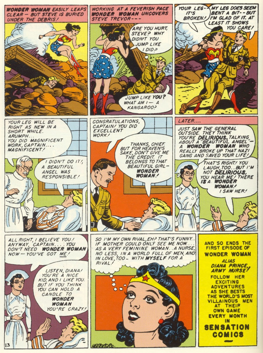 Read online Sensation (Mystery) Comics comic -  Issue #1 - 15
