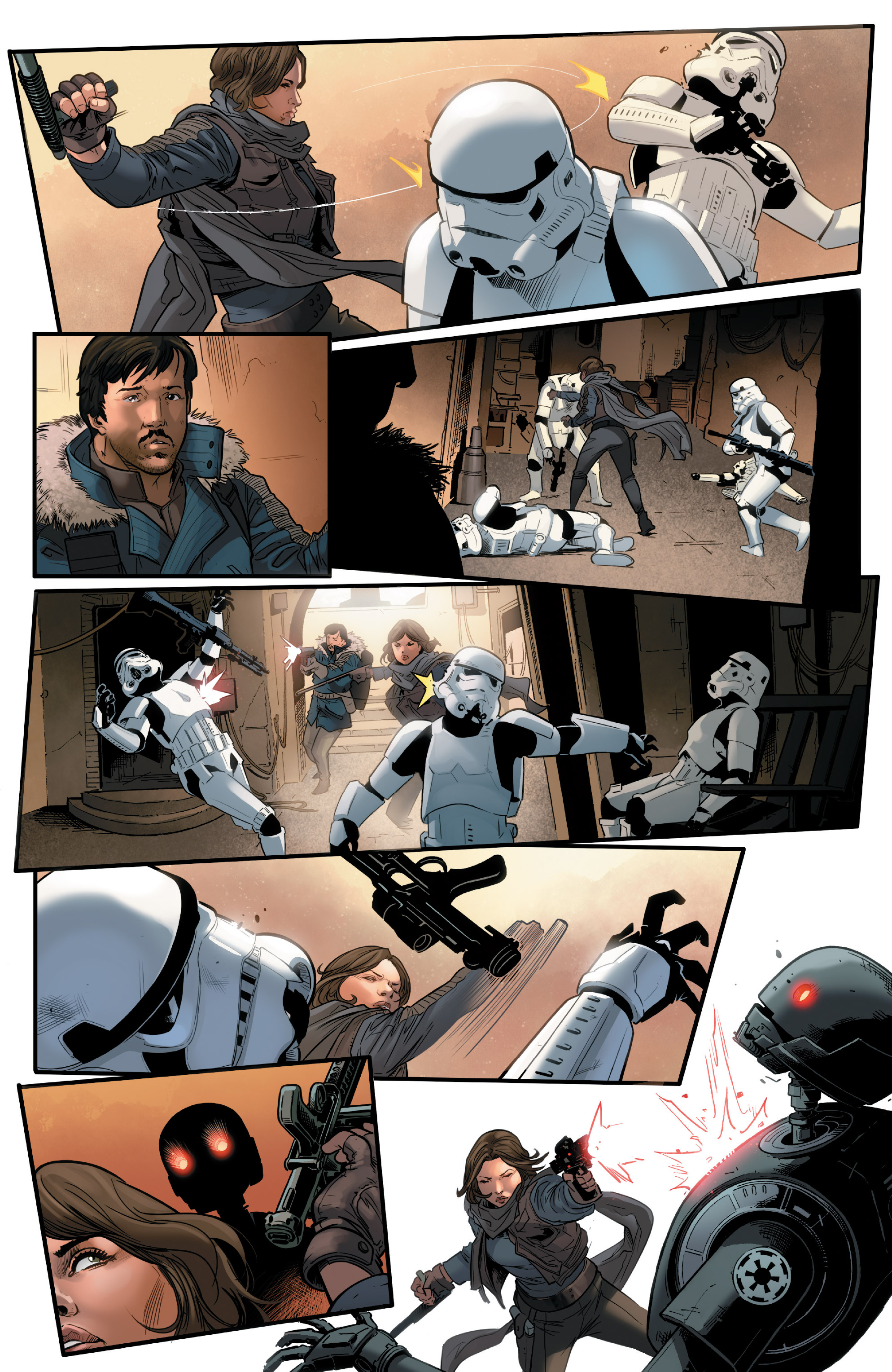 Read online Star Wars: Rogue One Adaptation comic -  Issue #2 - 10
