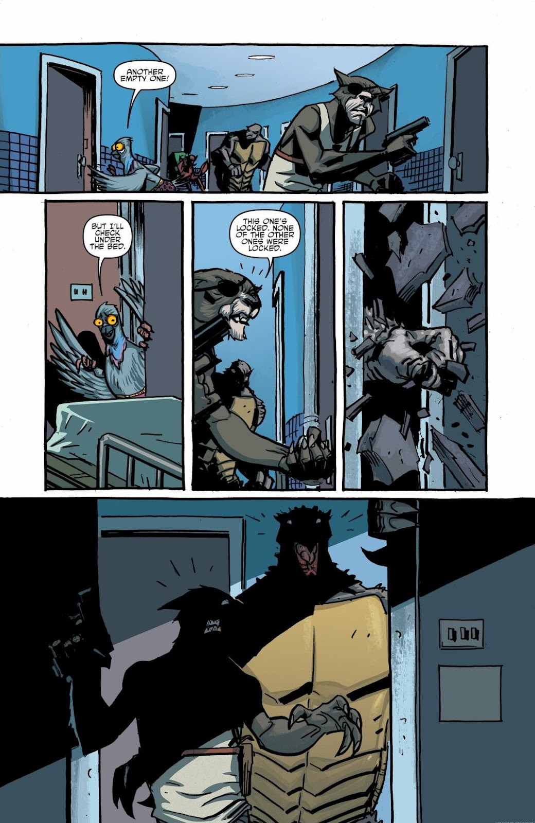 Read online Teenage Mutant Ninja Turtles: The IDW Collection comic -  Issue # TPB 6 (Part 1) - 22
