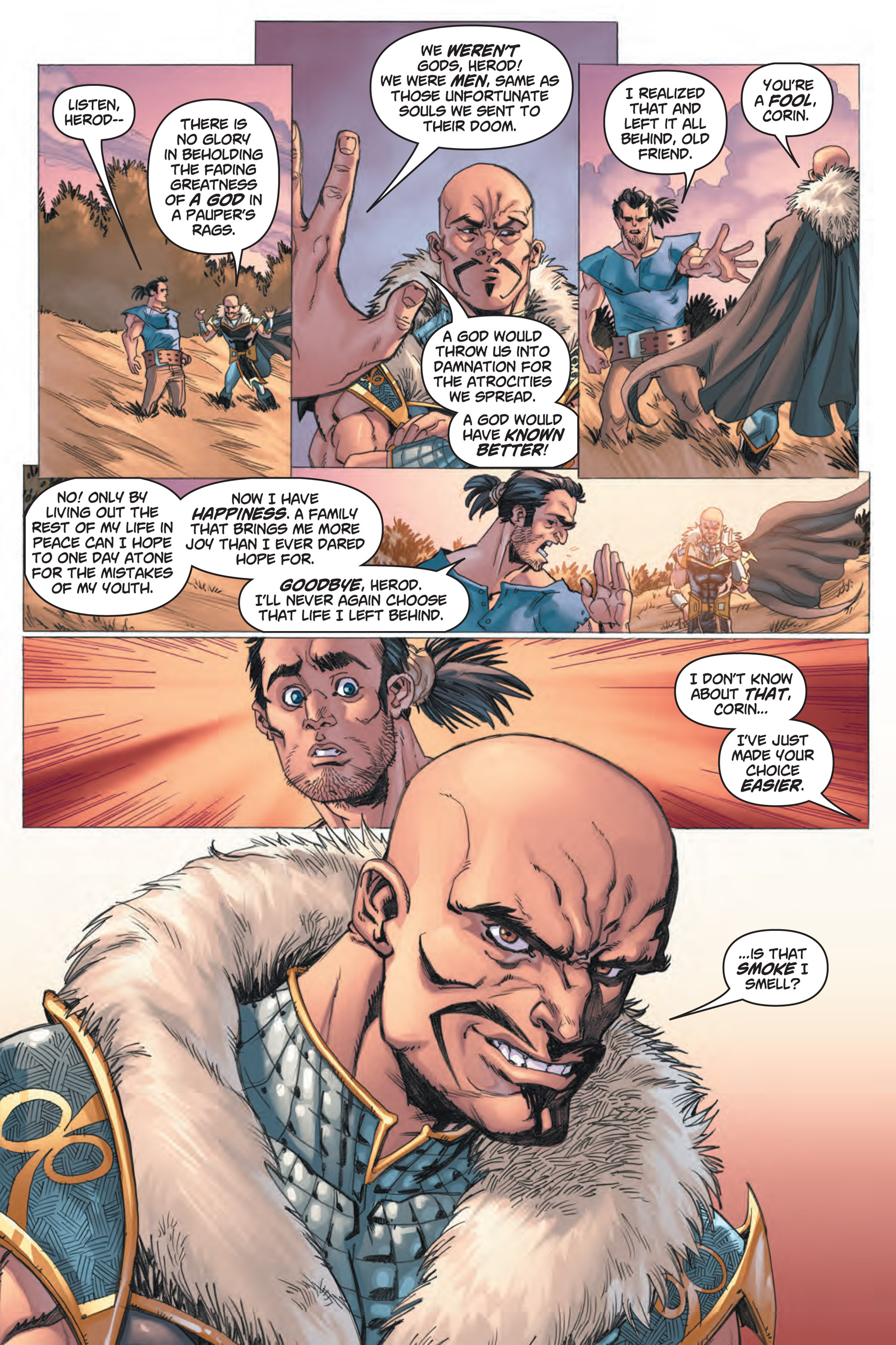 Read online Skyward comic -  Issue #1 - 18