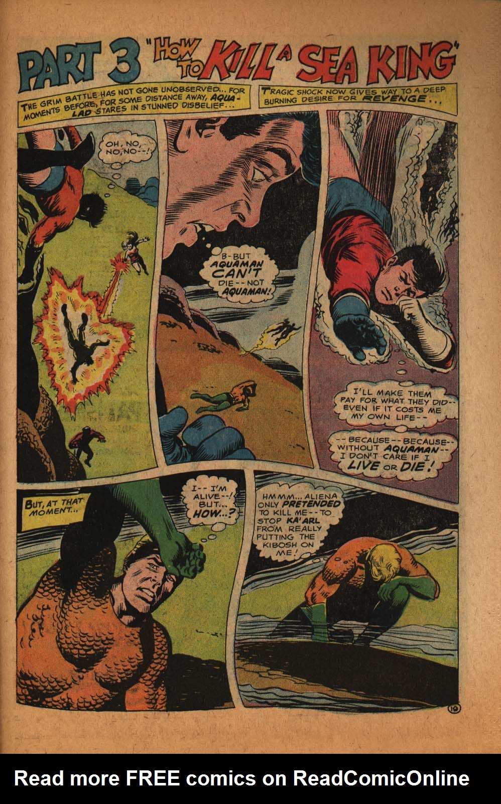 Read online Aquaman (1962) comic -  Issue #39 - 28