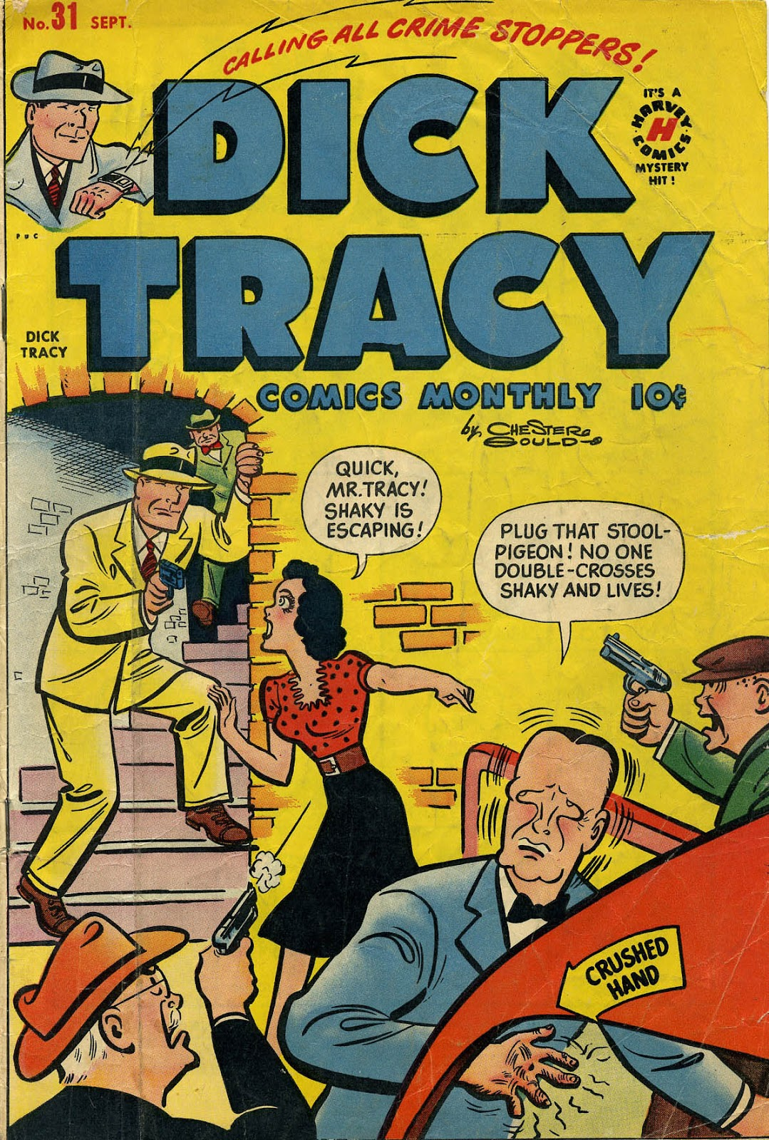 Dick Tracy (1950) 31 Page 1