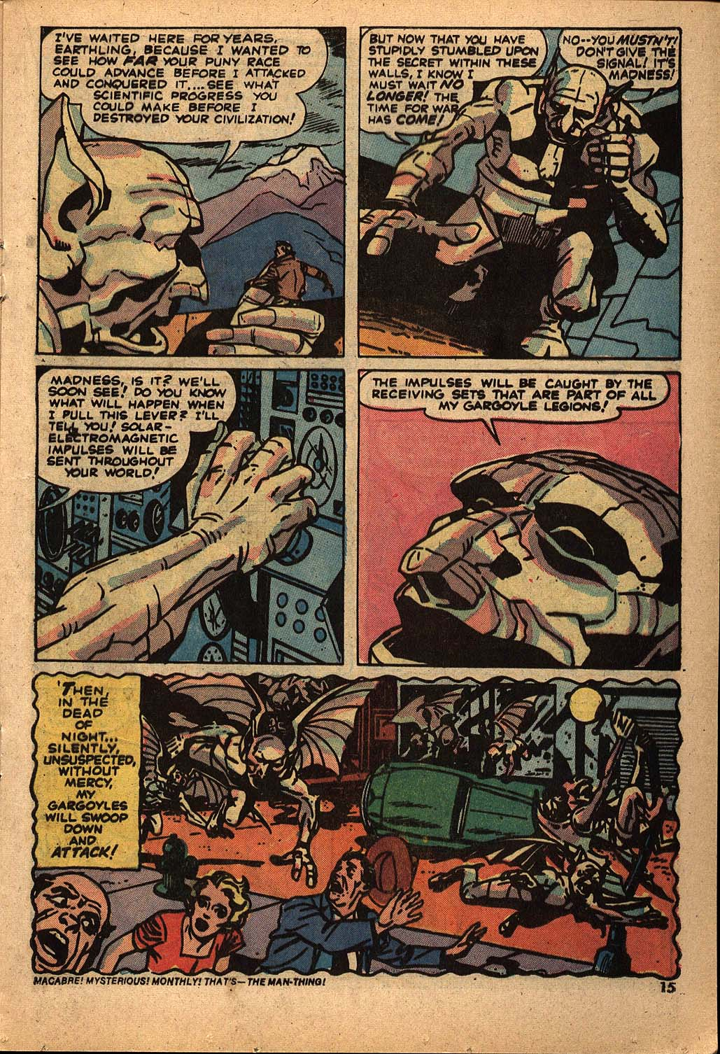 Read online Astonishing Tales (1970) comic -  Issue #22 - 9