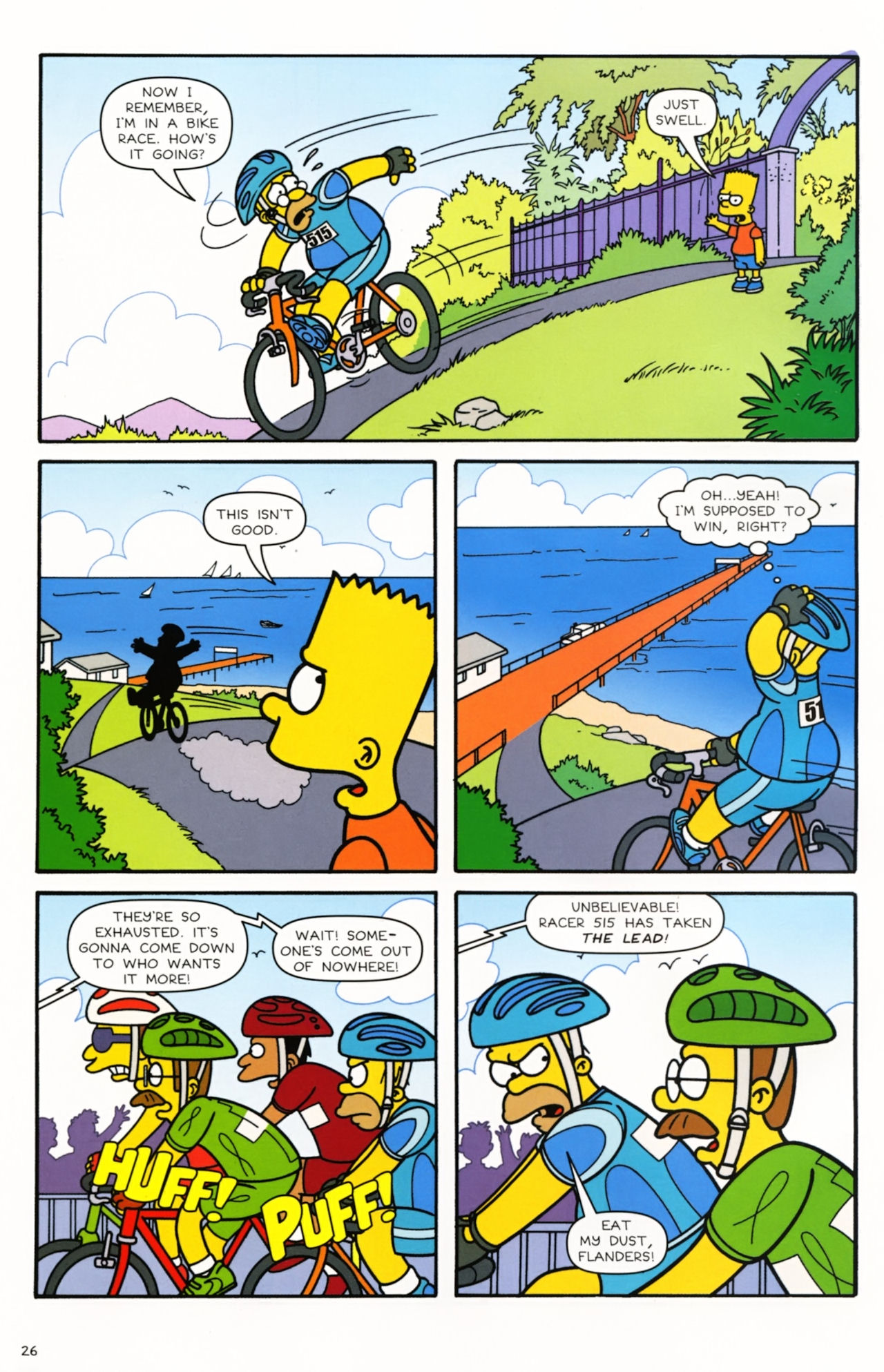Read online Simpsons Comics comic -  Issue #166 - 22