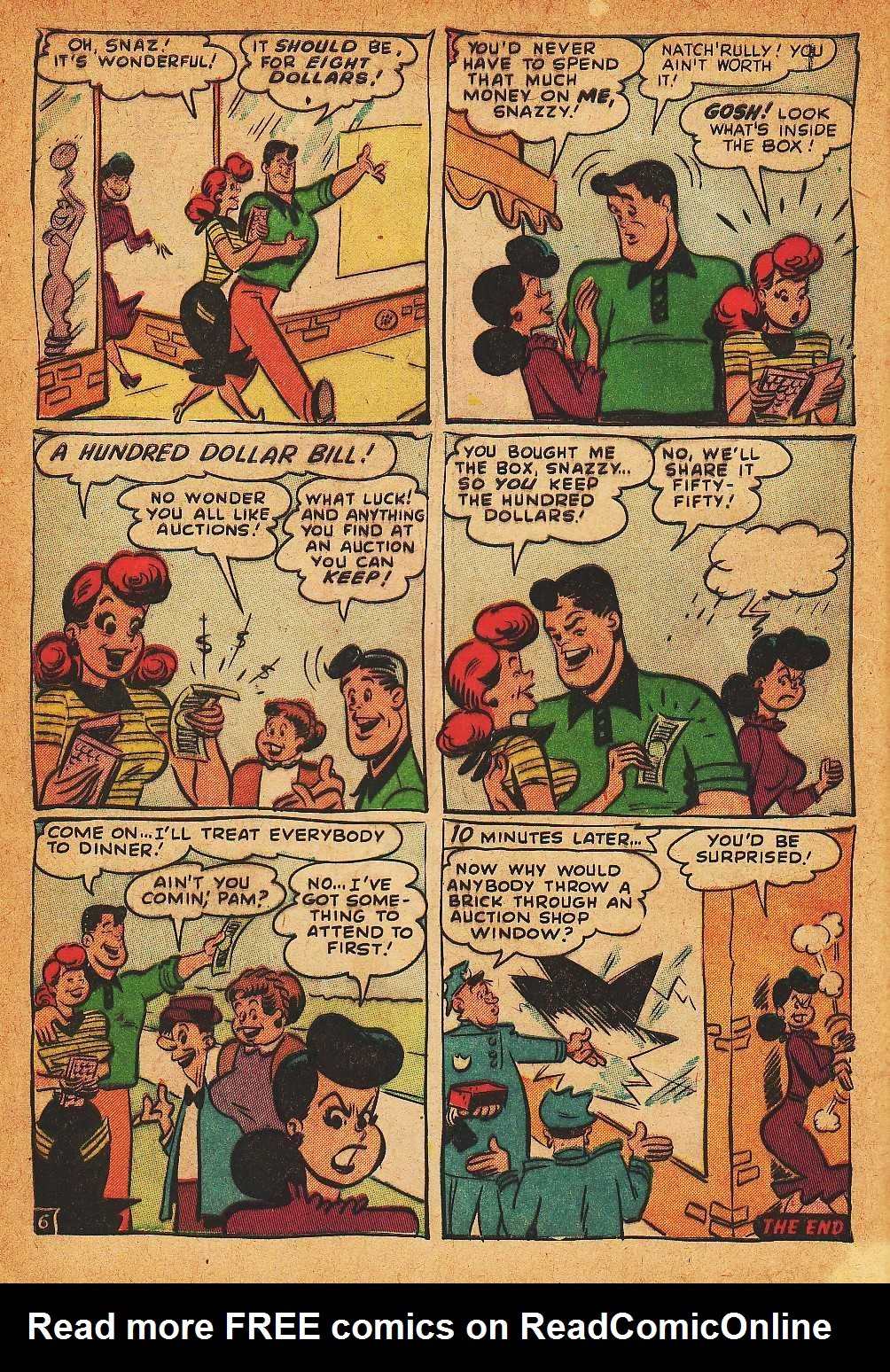 Read online Nellie The Nurse (1945) comic -  Issue #32 - 8