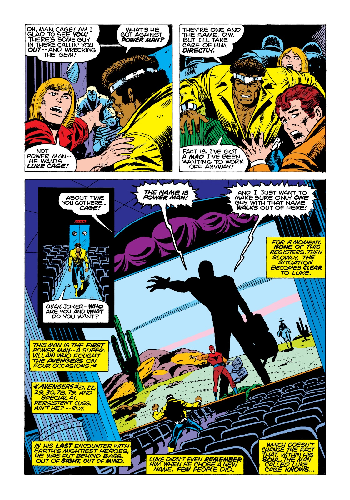 Read online Marvel Masterworks: Luke Cage, Power Man comic -  Issue # TPB 2 (Part 1) - 94